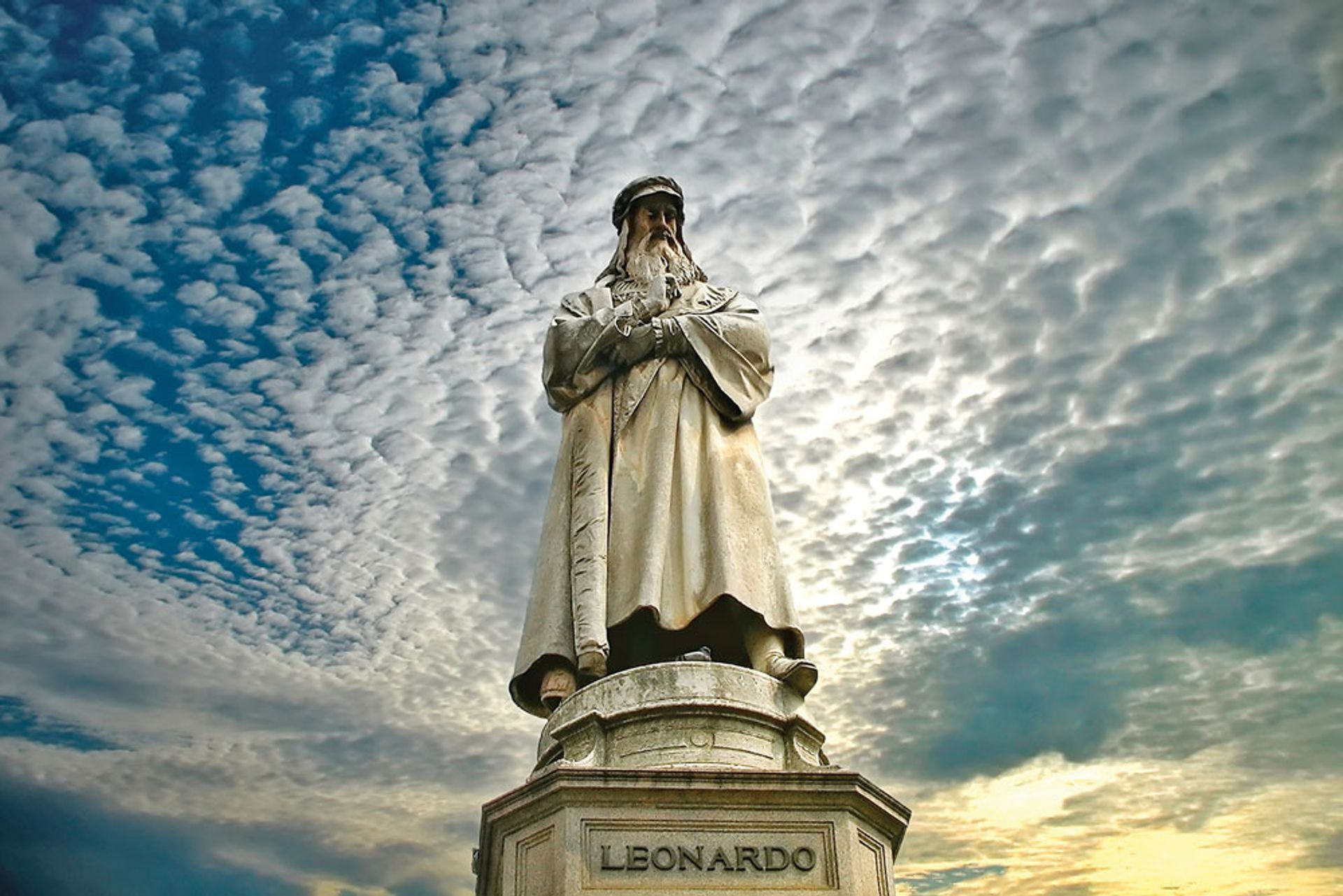 Museums across Europe are planning shows for the 500th anniversary of Leonardo da Vinci's death next year WDG Photo
