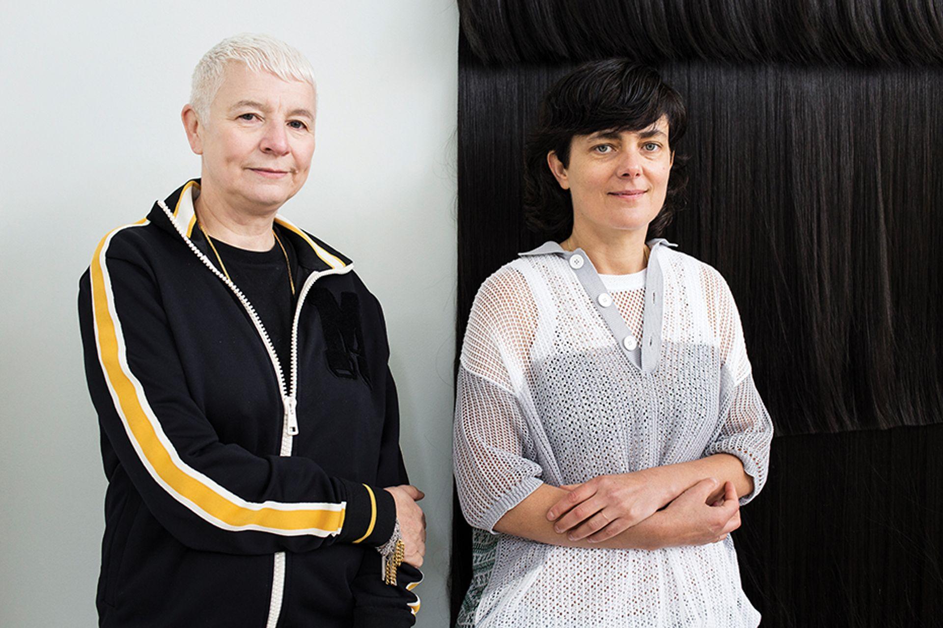 The artist duo Pauline Boudry and Renate Lorenz are representing Switzerland at the 2019 Venice Biennale ©Francesco Galli; Courtesy of La Biennale di Venezia