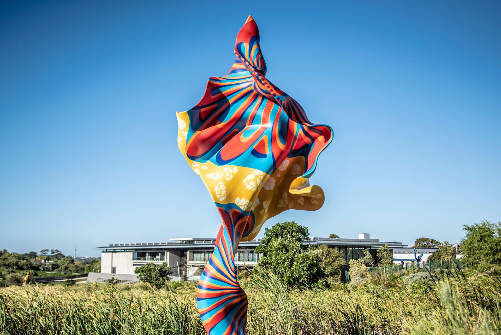 Yinka Shonibare's wind sculptures (see here at the Norval Foundation in Cape Town, South Africa) which evoke the wind that once took ships around the world could serve as an alternative to a traditional monument © Courtesy of the artist, Goodman Gallery, Cape Town, Johannesburg and London; James Cohan Gallery, New York; and Stephen Friedman Gallery, London.