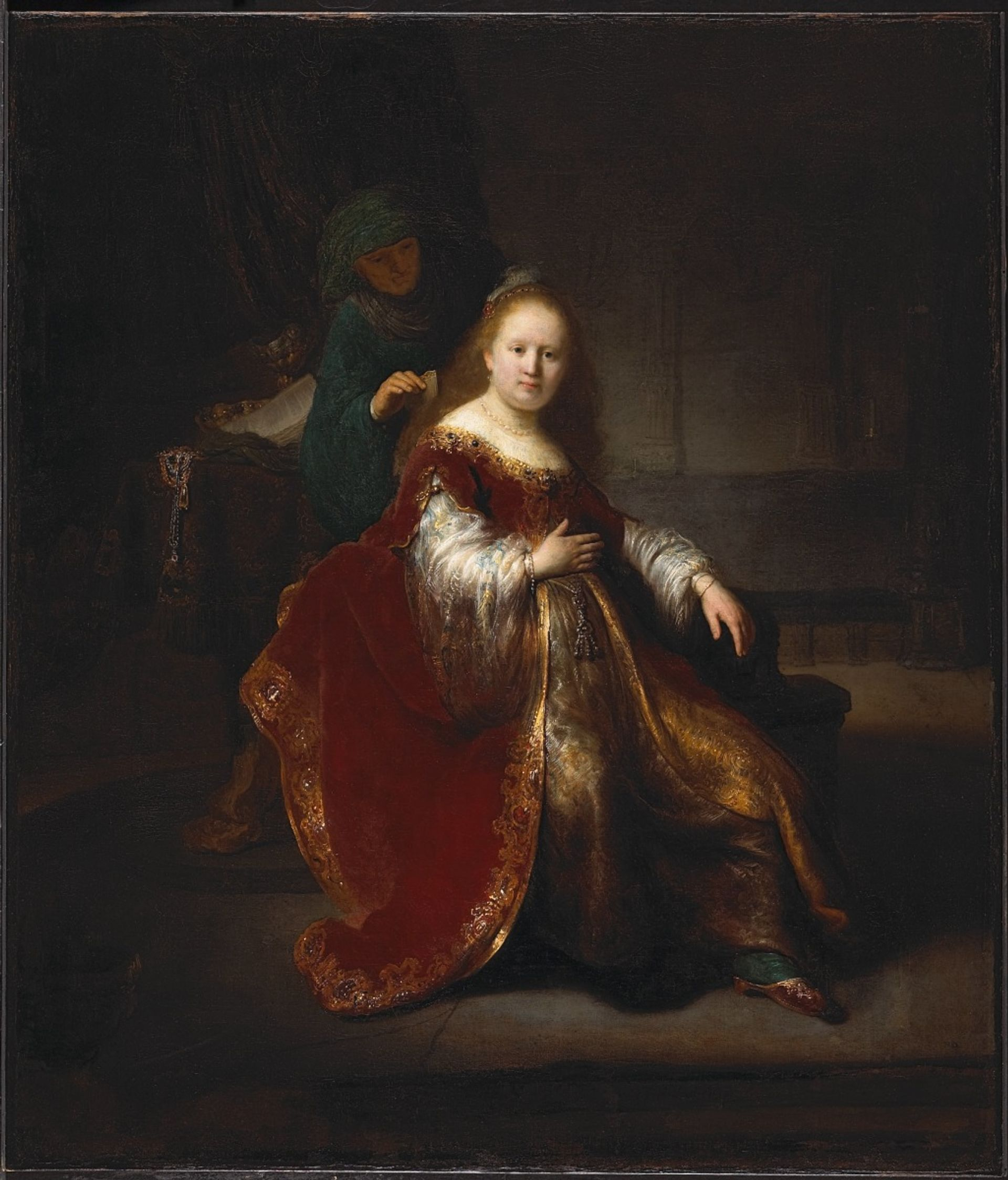 Rembrandt van Rijn, Heroine from the Old Testament (1632-1633) Courtesy of the National Gallery of Canada