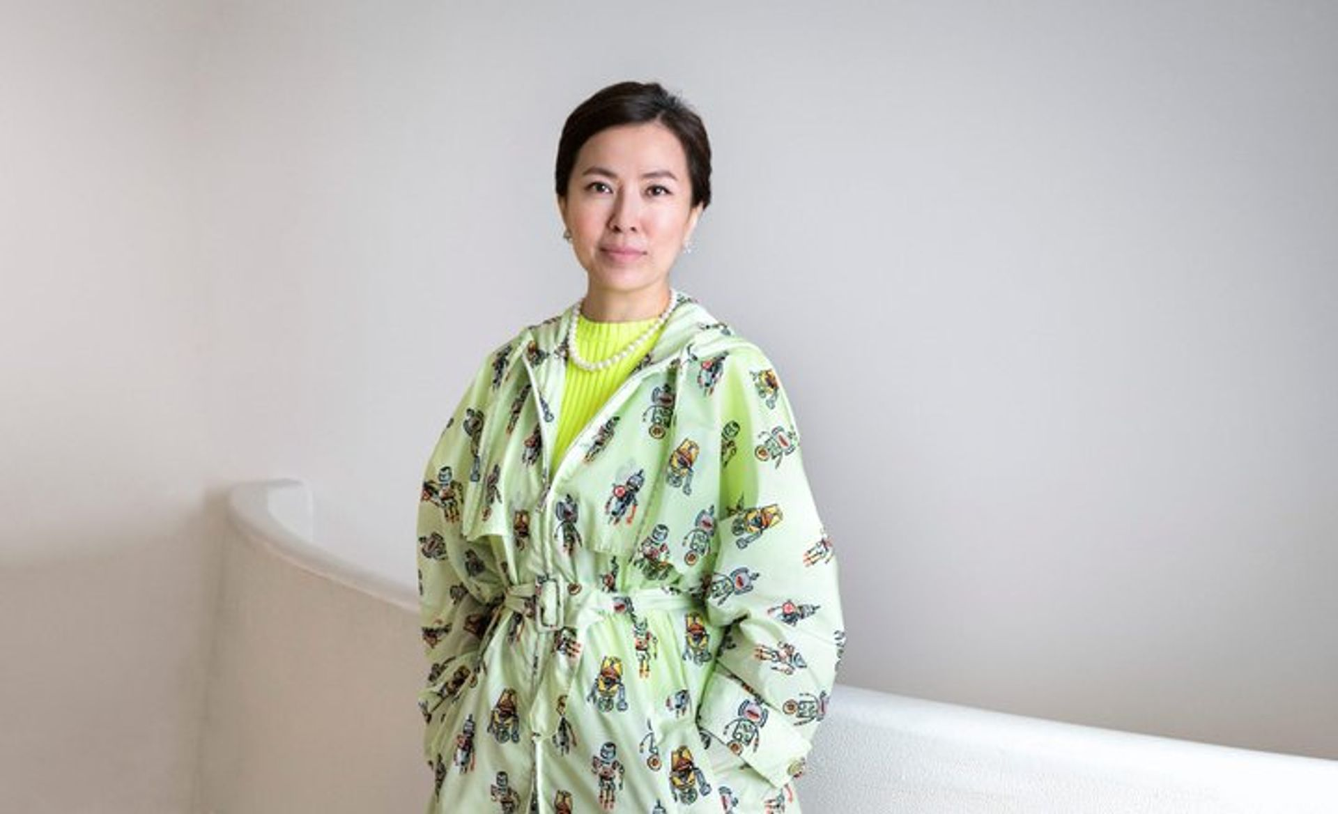 The Korean artist Anicka Yi has been selected to take over the Turbine Hall at Tate Modern this autumn Photo credit: David Heald