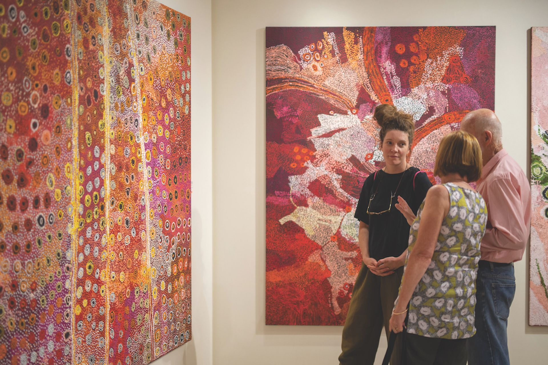 With a lack of dedicated gallery space, much of the Indigenous art in public collections is never seen by the public Rhett Hammerton/NT Department of Tourism, Sport and Culture