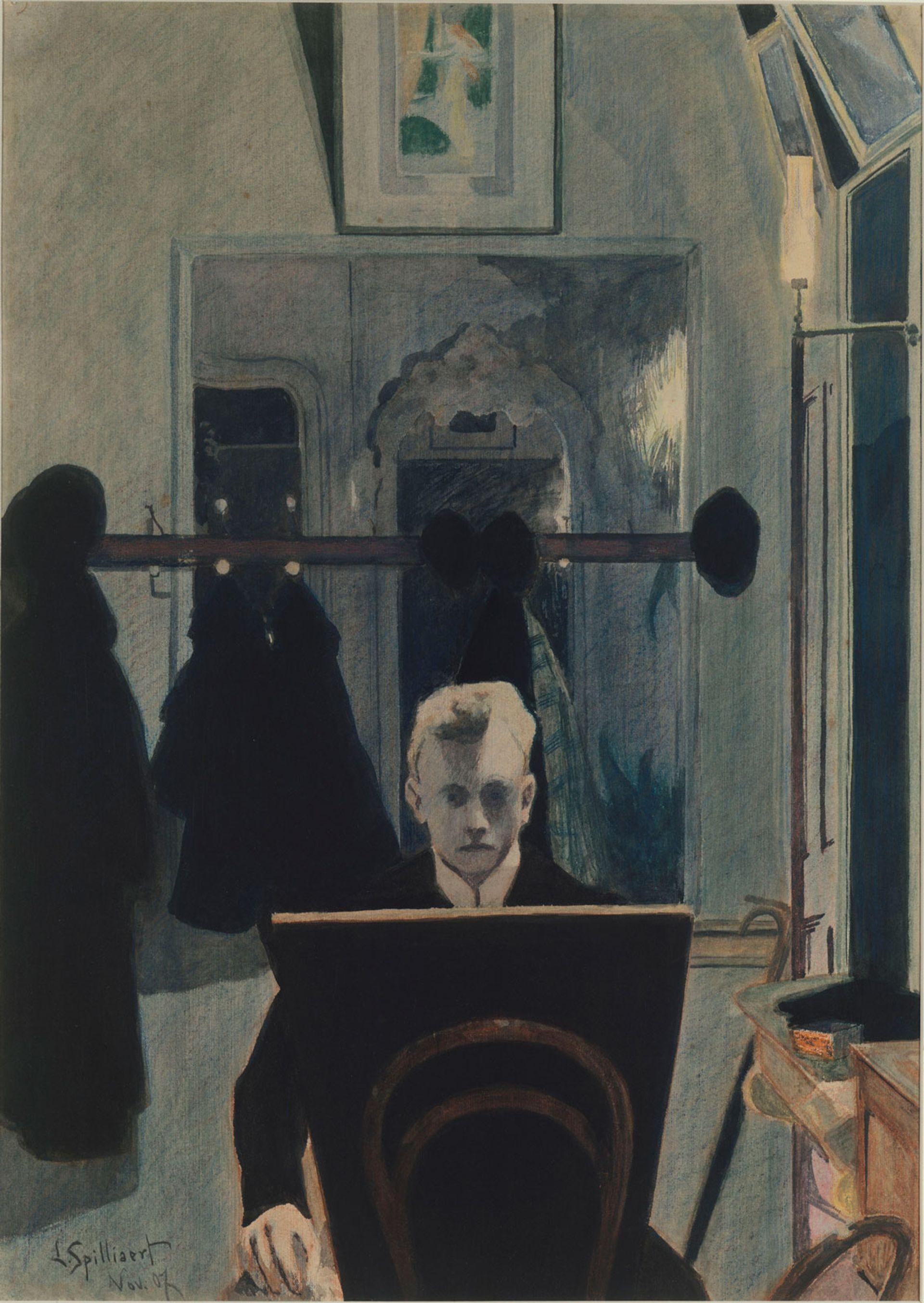 Léon Spilliaert's Self-portrait (1907) © 2019 The Metropolitan Museum of Art/Art Resource/Scala, Florence