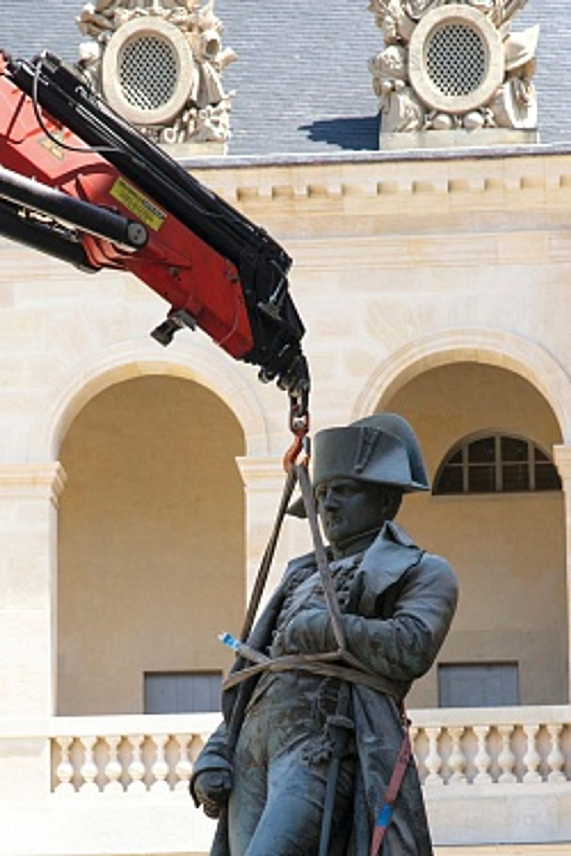 Return from exile: the statue (1833) by Charles Émile Seurre is back at Les Invalides Photo: © RMN-GP/Anne-Sylvaine Marre-Noël