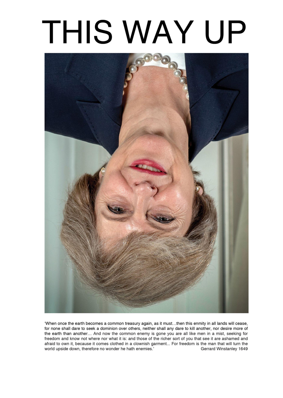 Mark Wallinger, This Way Up, 2019 © Mark Wallinger. Photo: Andrew Parsons / i-Images
