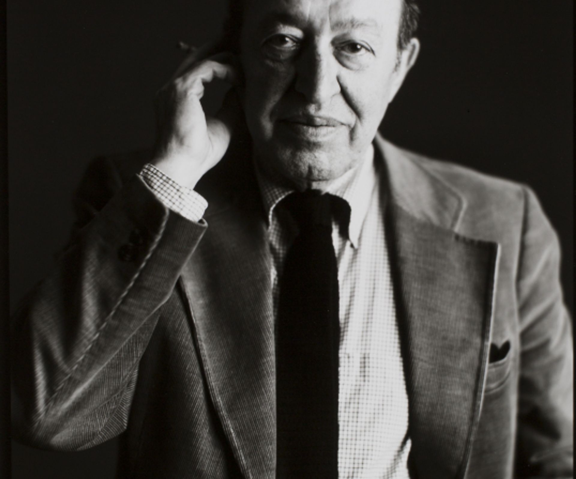 Timothy Greenfield-Sanders, Clement Greenberg, 1982 © 1982 Timothy Greenfield-Sanders