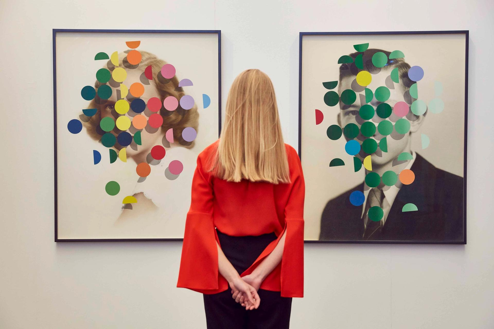 The London Art Fair is one of the first UK fairs following the introduction of the new anti-money laundering regulations which require galleries to obtain more information on their client before making a sale © Mark Cocksedge