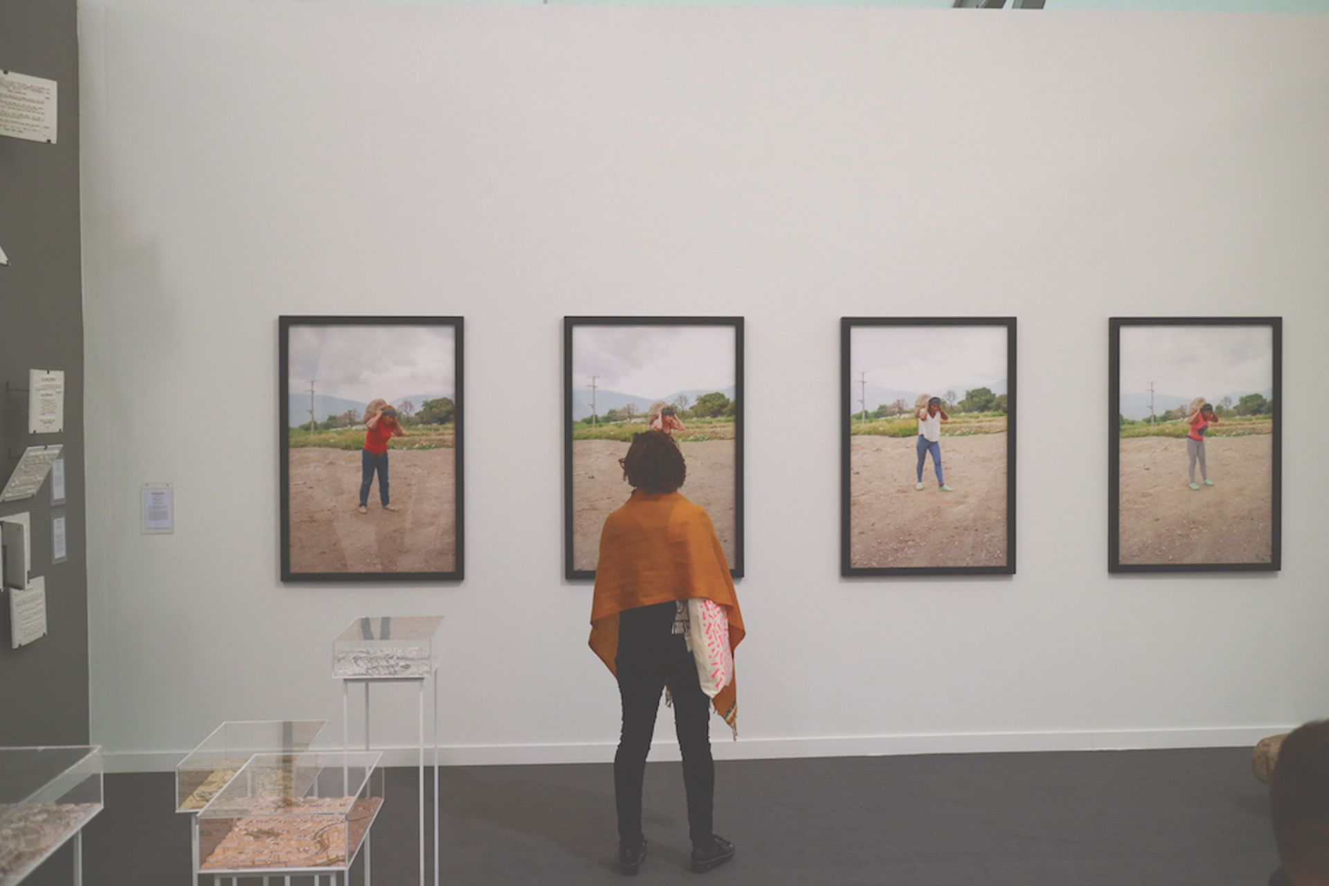 Mor Charpentier gallery is exhibiting works by the Mexican artist Teresa Margolles at Frieze New York Casey Fatchett