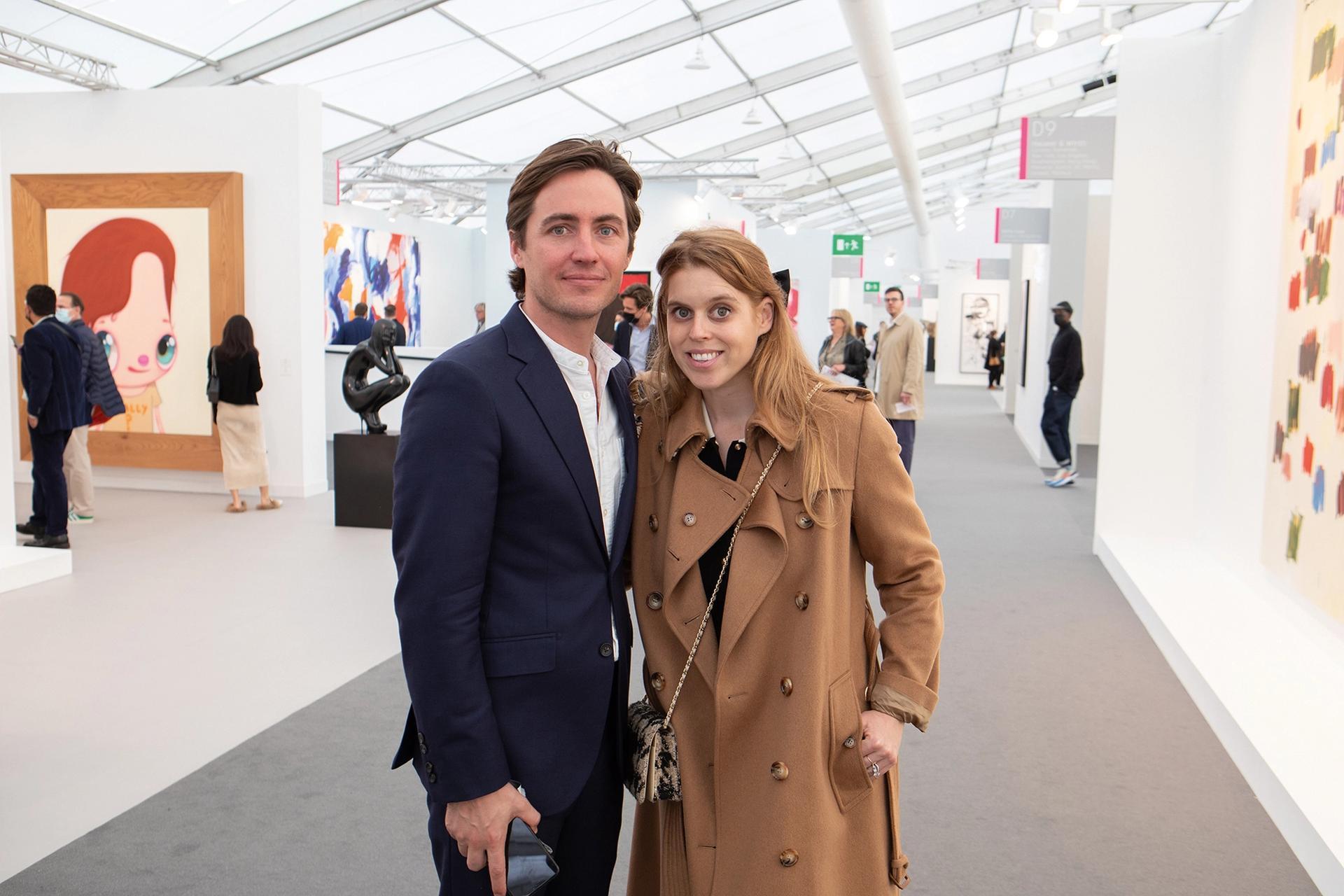 Princess Beatrice of York and her husband Edoardo Mapelli Mozzi Photo: David Owens