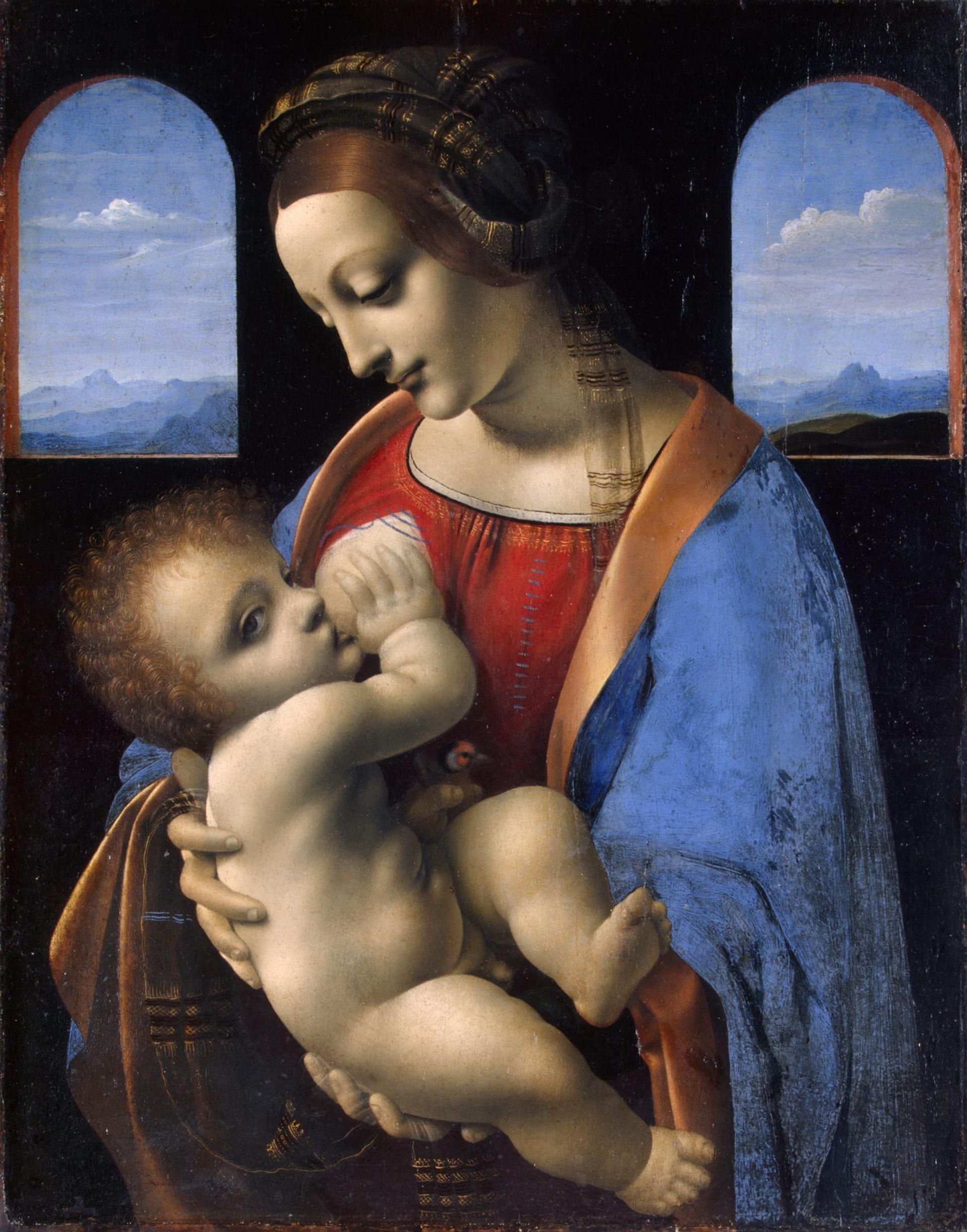 Leonardo da Vinci's Madonna Litta (1490) in the State Hermitage Museum will be turned into an NFT