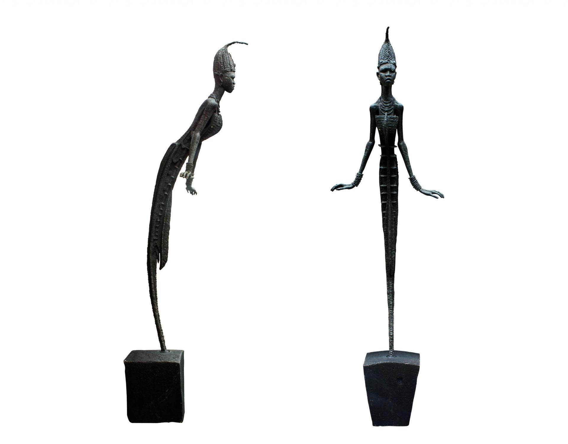 Anyanwu symbolises the powerful earth goddess Ani, who is worshipped by the Igbo group from which the Nigerian artist Ben Enwonwu hails