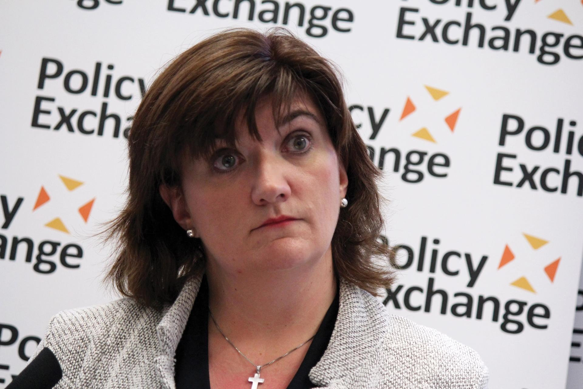 Nicky Morgan Photo: Policy Exchange