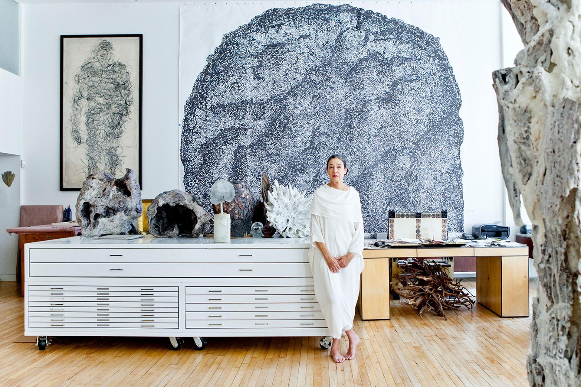 Michele Oka Doner in her New York studio Photo: Gerald Forster