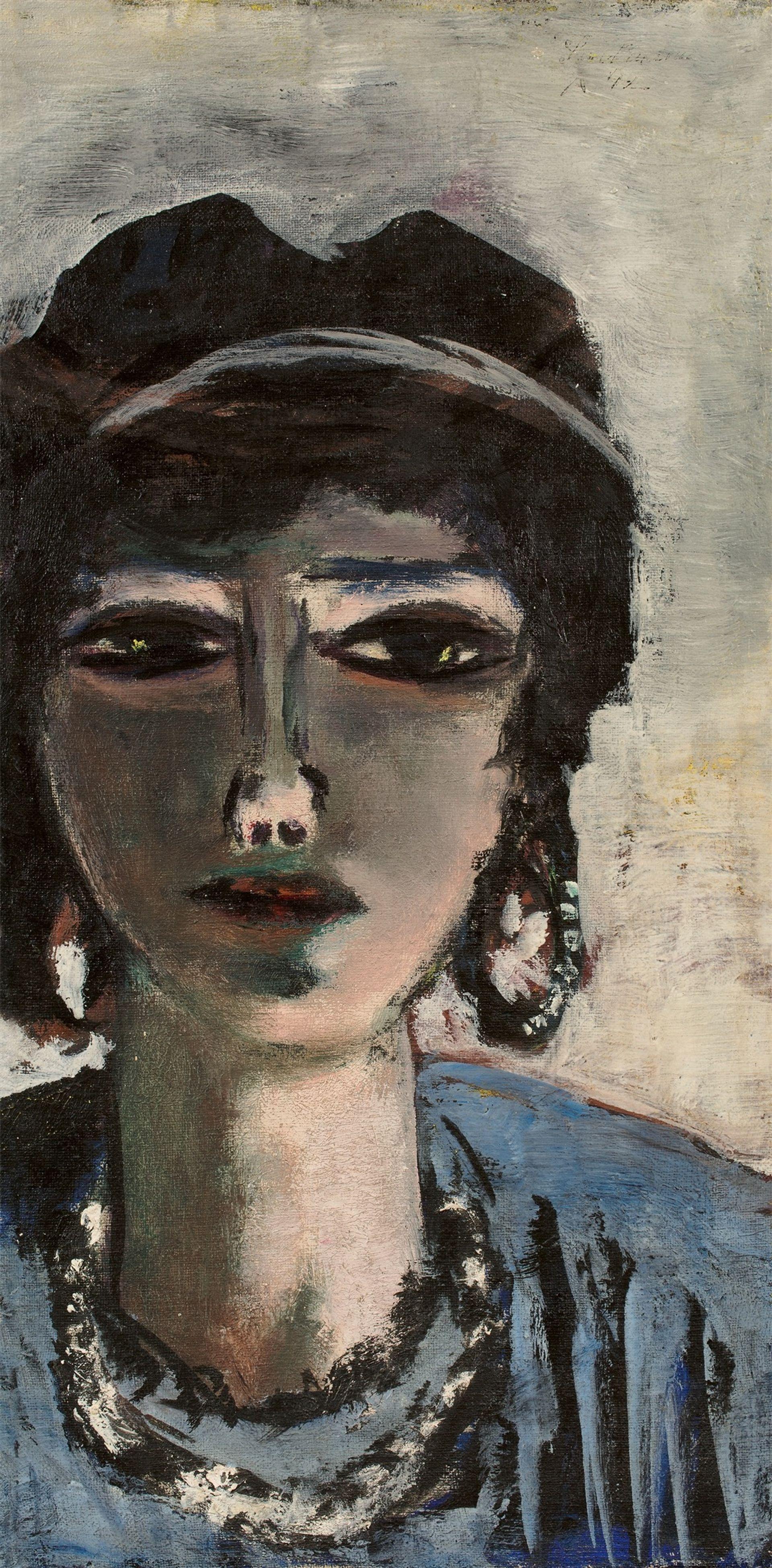 Max Beckmann, The Egyptian Woman  (1942) Courtesy of Villa Grisebach