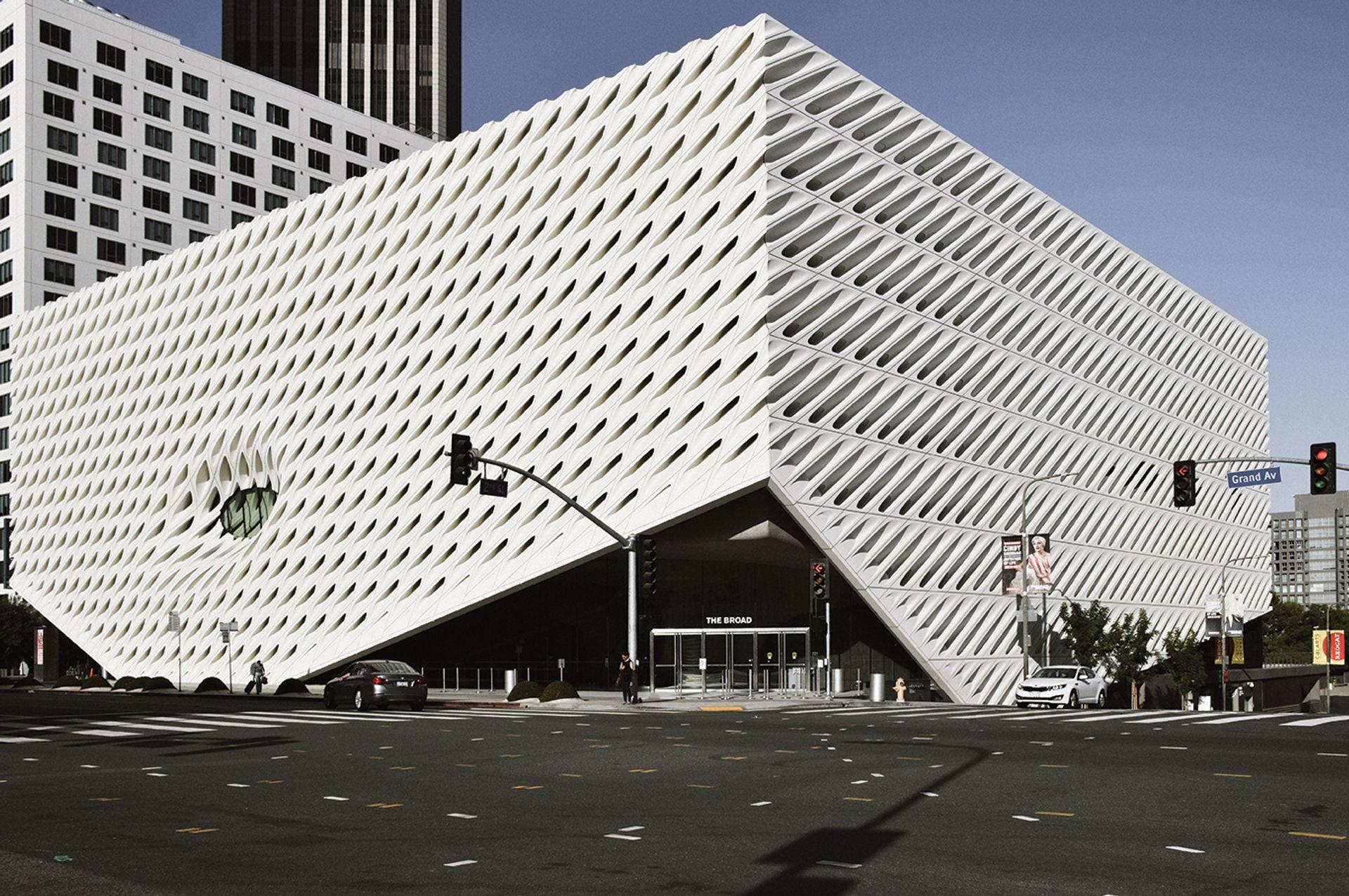 The Broad Museum in Los Angeles Photo by Tu Tram Pham on Unsplash