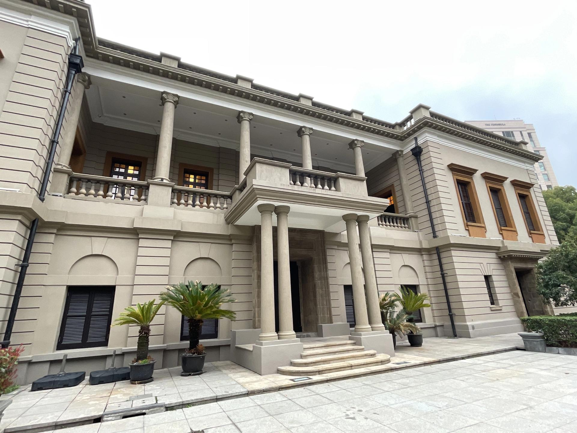 The exhibition will be held in a former British Consulate building in the waterfront Bund district