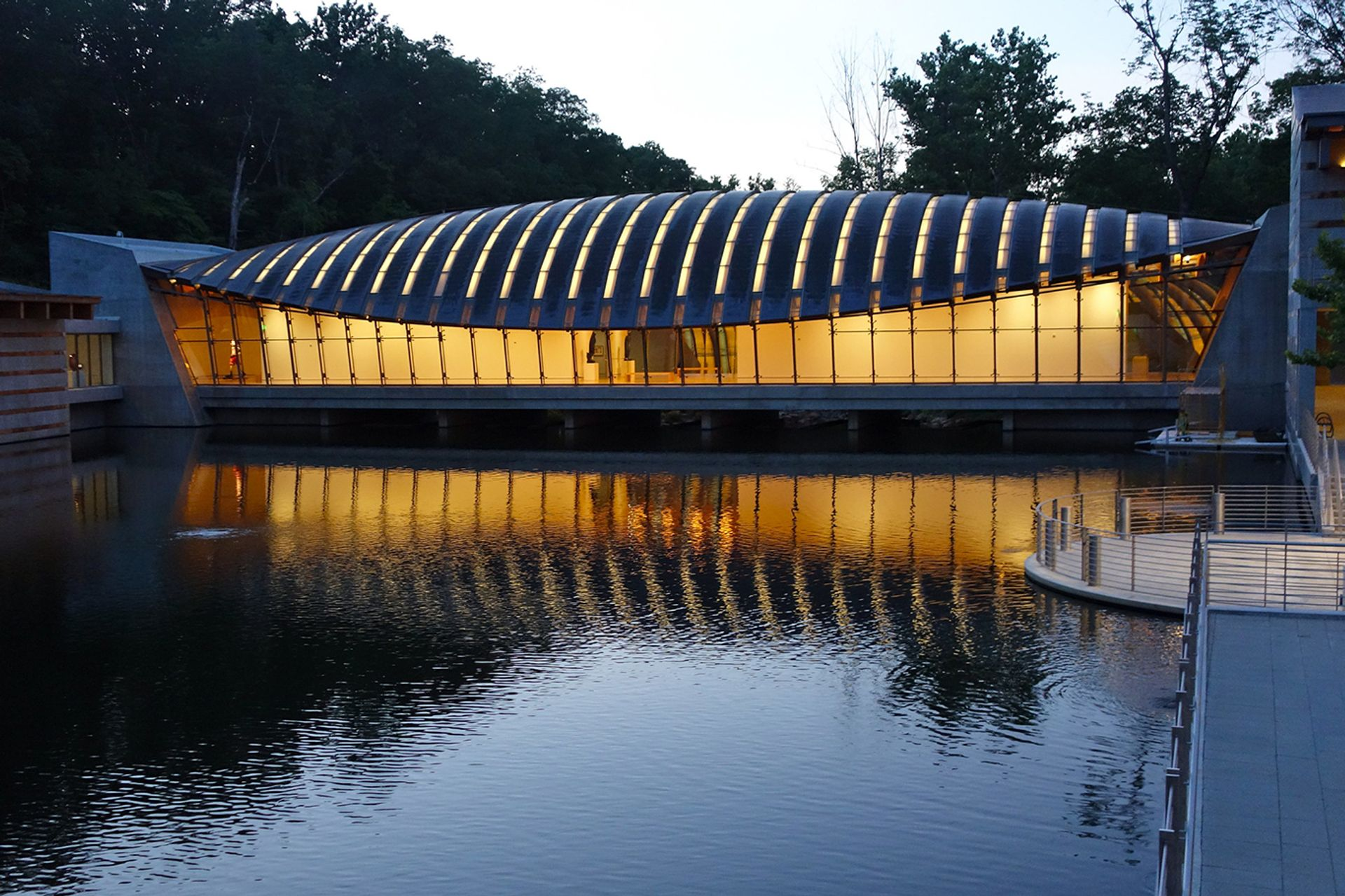 The Crystal Bridges Museum of American Art, which reopened last June, made the Top 10 list of American museums ranked for attendance in 2020 Kevin Dooley