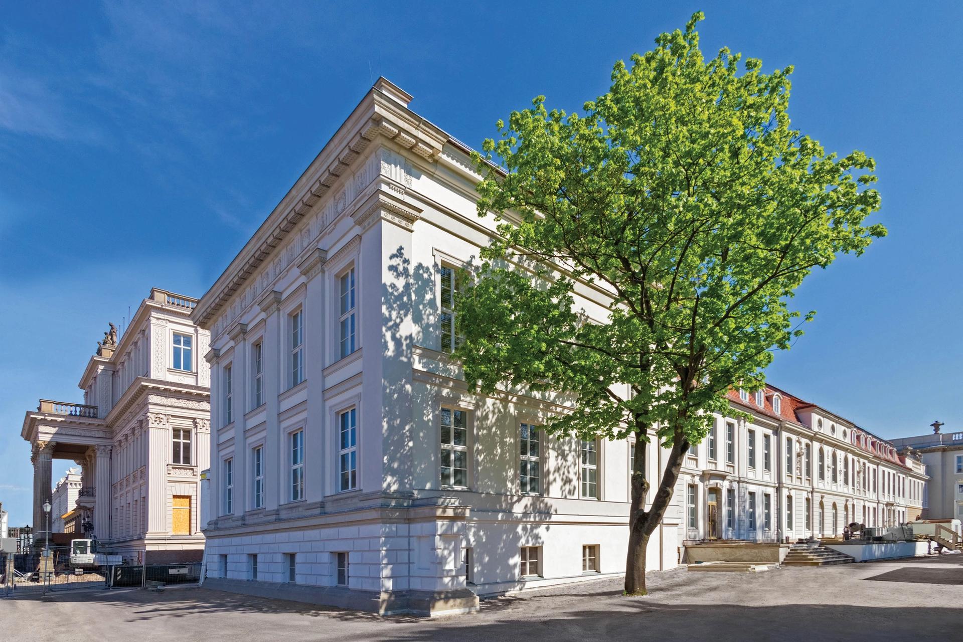 The Prinzessinnen Palais building in Berlin Photo: © Mathias Schormann