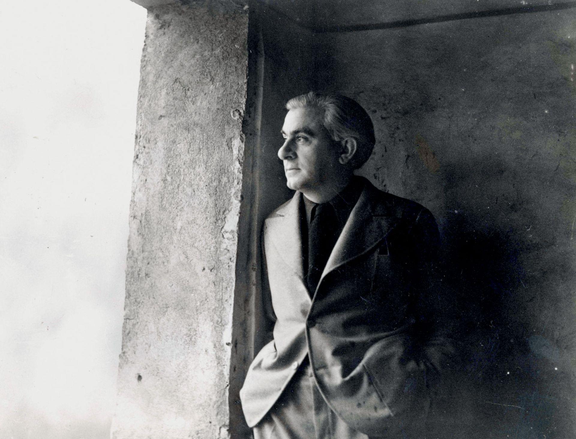 Christian Zervos in 1933 Photo: © Christian Derouet, Musée Zervos, Vezelay