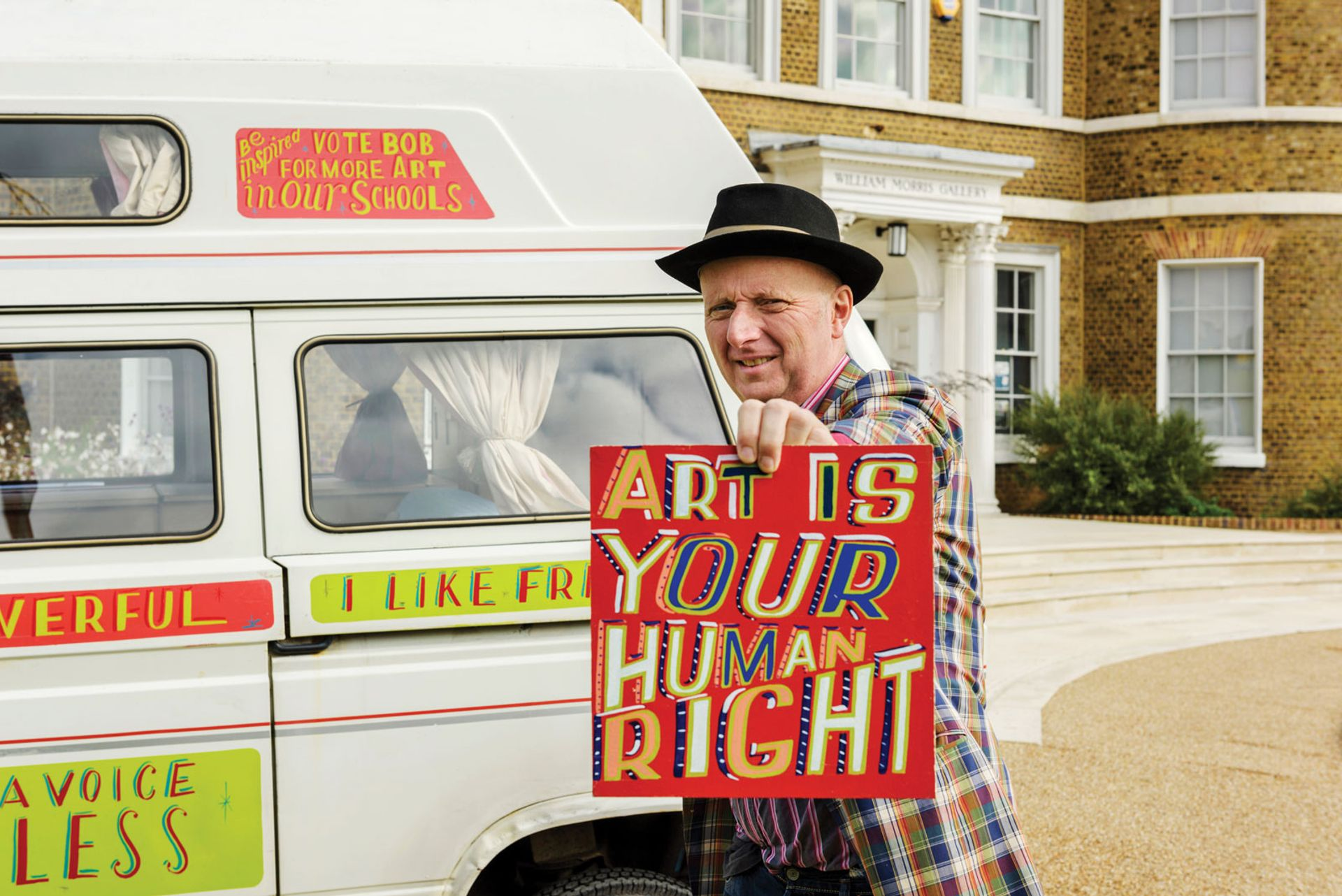 Bob and Roberta Smith © Paul Tucker all rights reserved