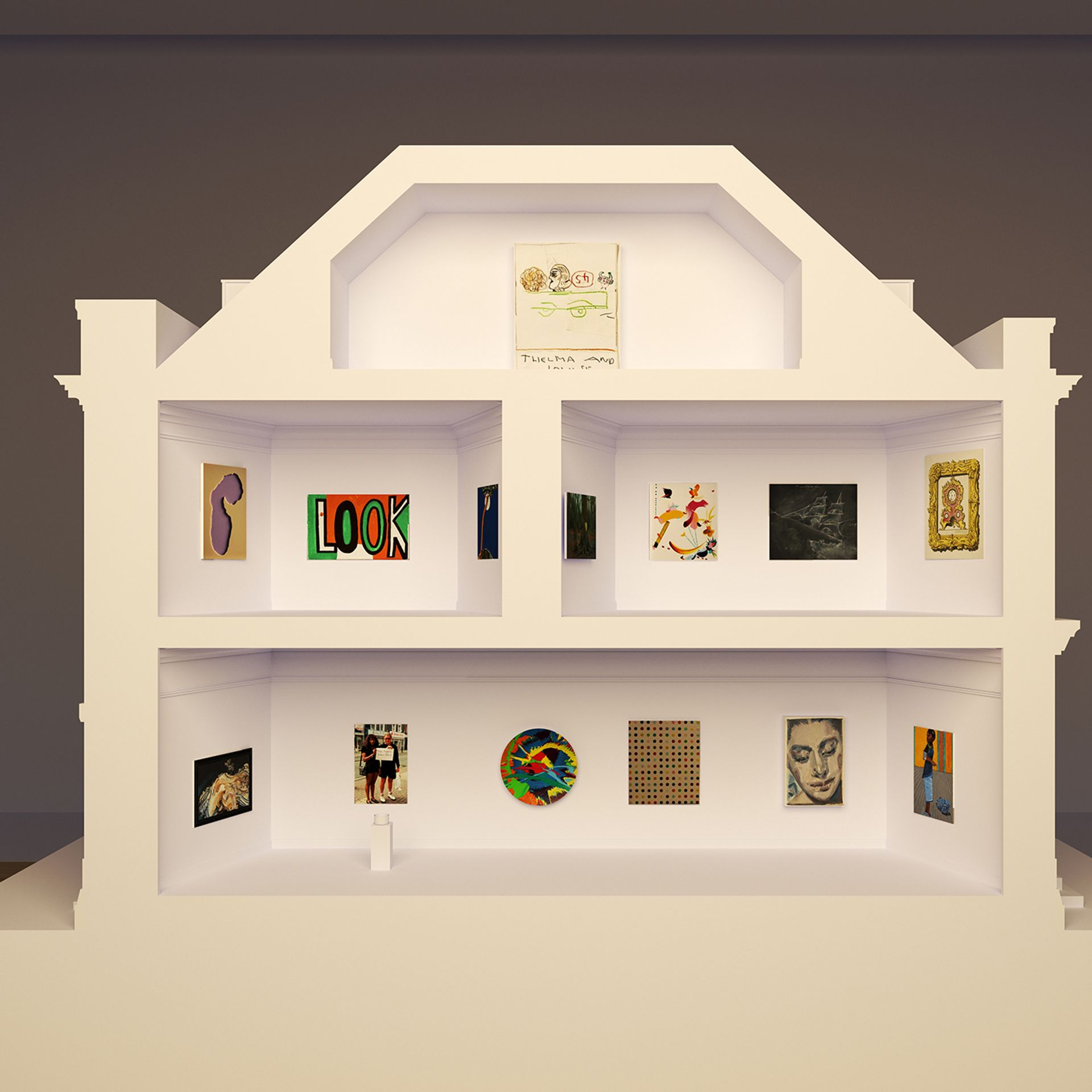 Pallant House Gallery's The 2021 Model Art Gallery Photograph Barney Hindle © Pallant House Gallery