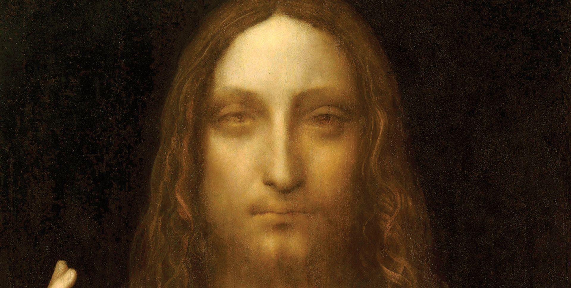 Leonardo da Vinci: Salvator Mundi (Abu Dhabi version, around 1512) Photo: VCG Wilson/Corbis via Getty Images