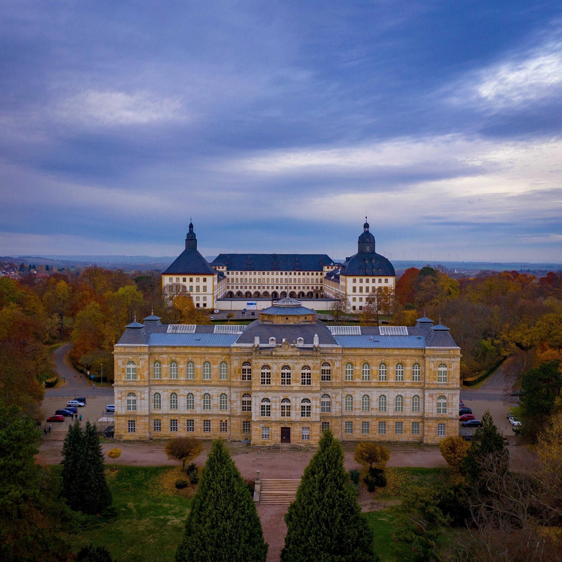 The baroque palace Schloss Friedenstein in Gotha will be the biggest beneficiary © Benjamin Bindewald