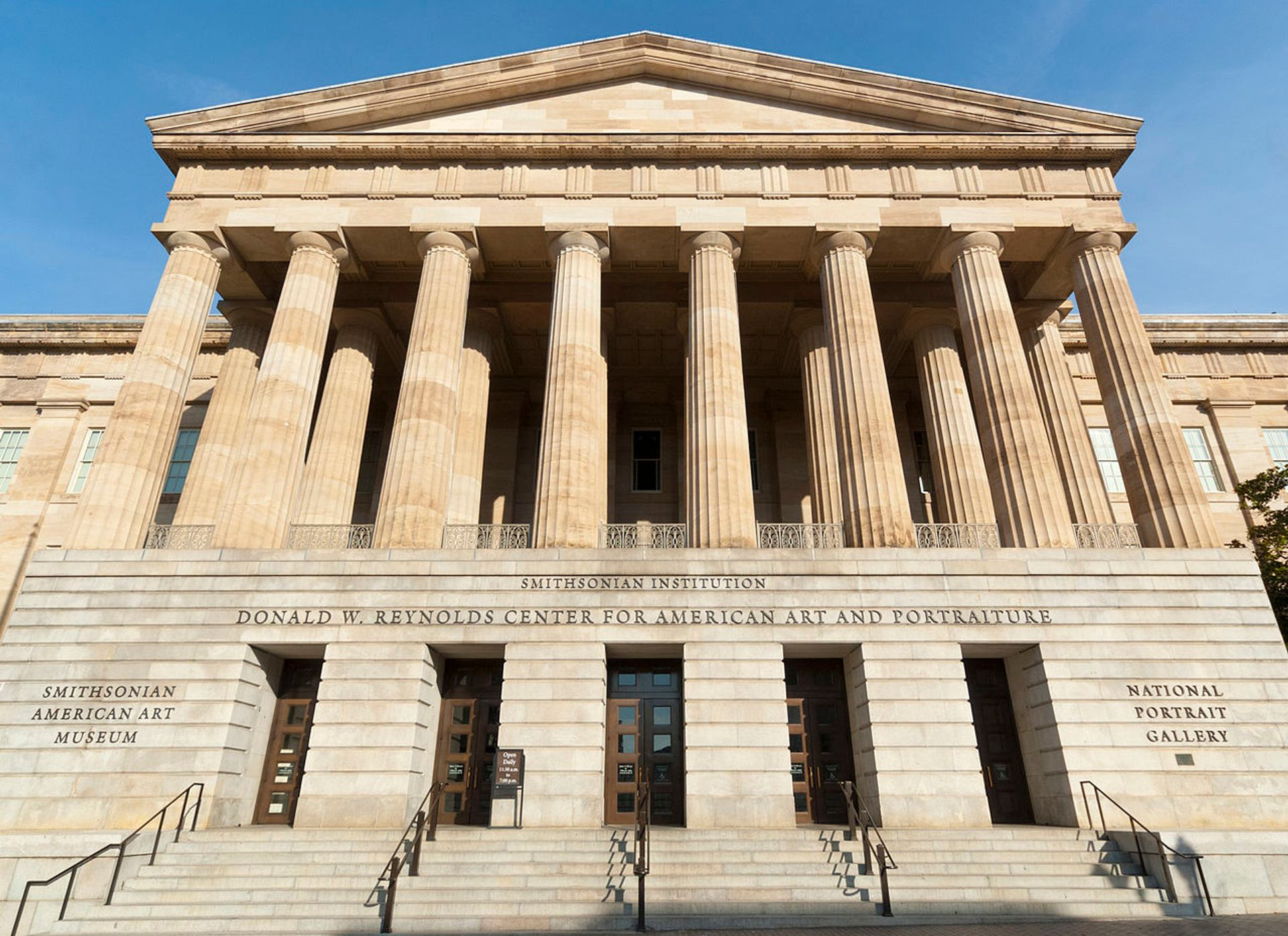 The Smithsonian American Art Museum in Washington, DC