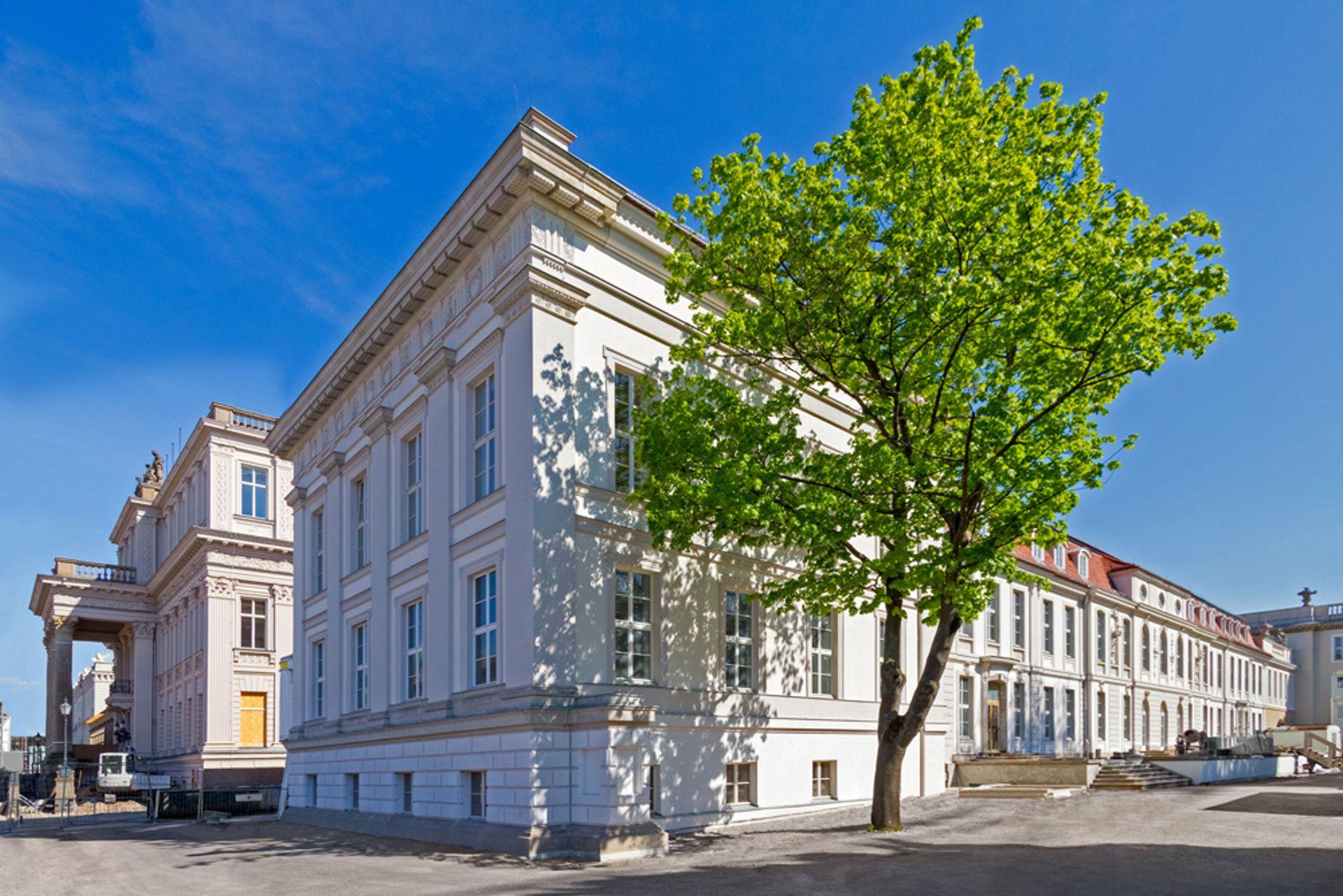 The Palais Populaire is located in the historic Prinzessinnenpalais on Unter den Linden Deutsche Bank