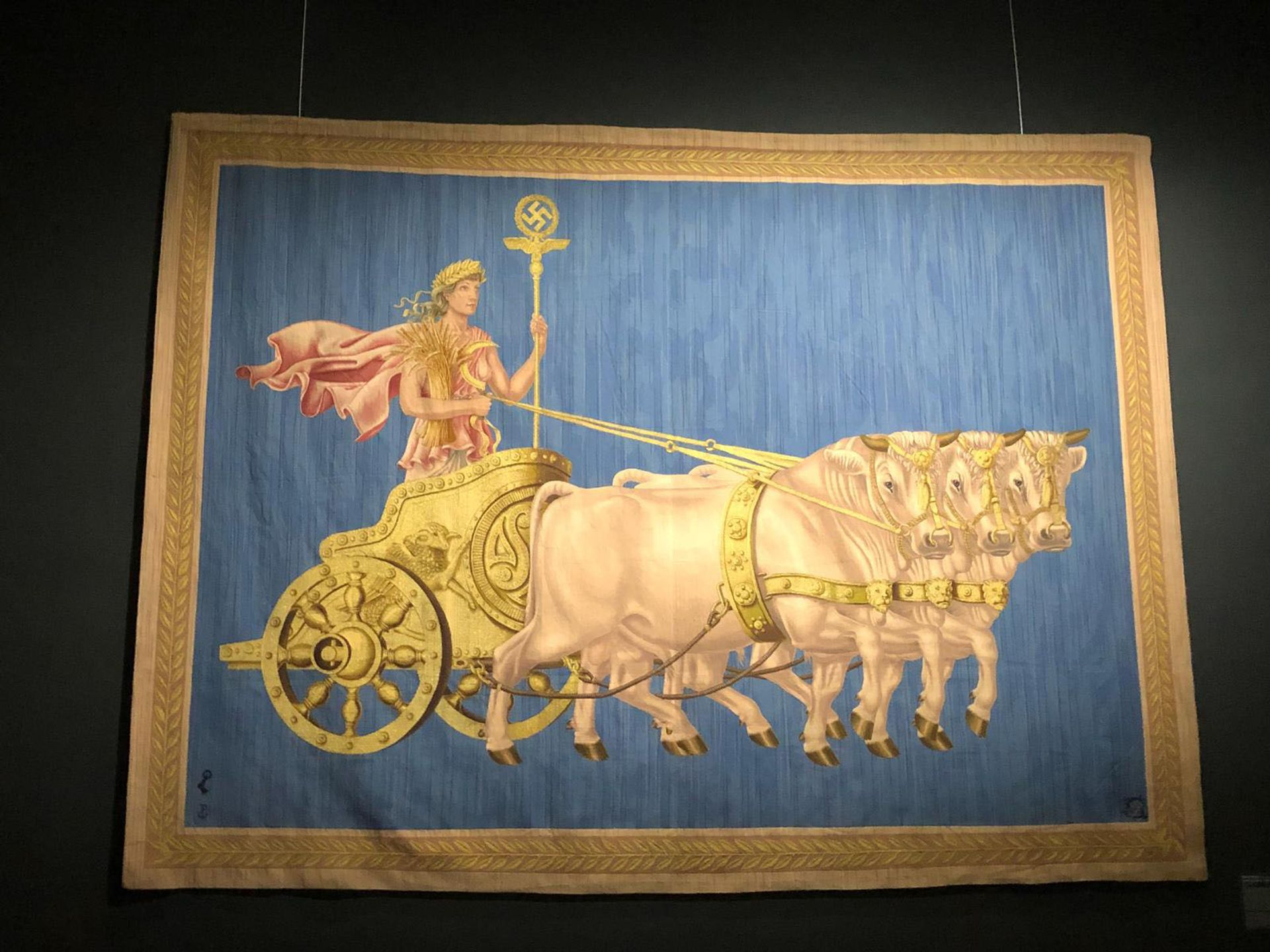 Werner Peiner's tapestry Die Fruchtbarkeit (Fertility), commissioned for the official residence of the Nazi Foreign Minister Joachim von Ribbentrop in Berlin Giles MacDonogh