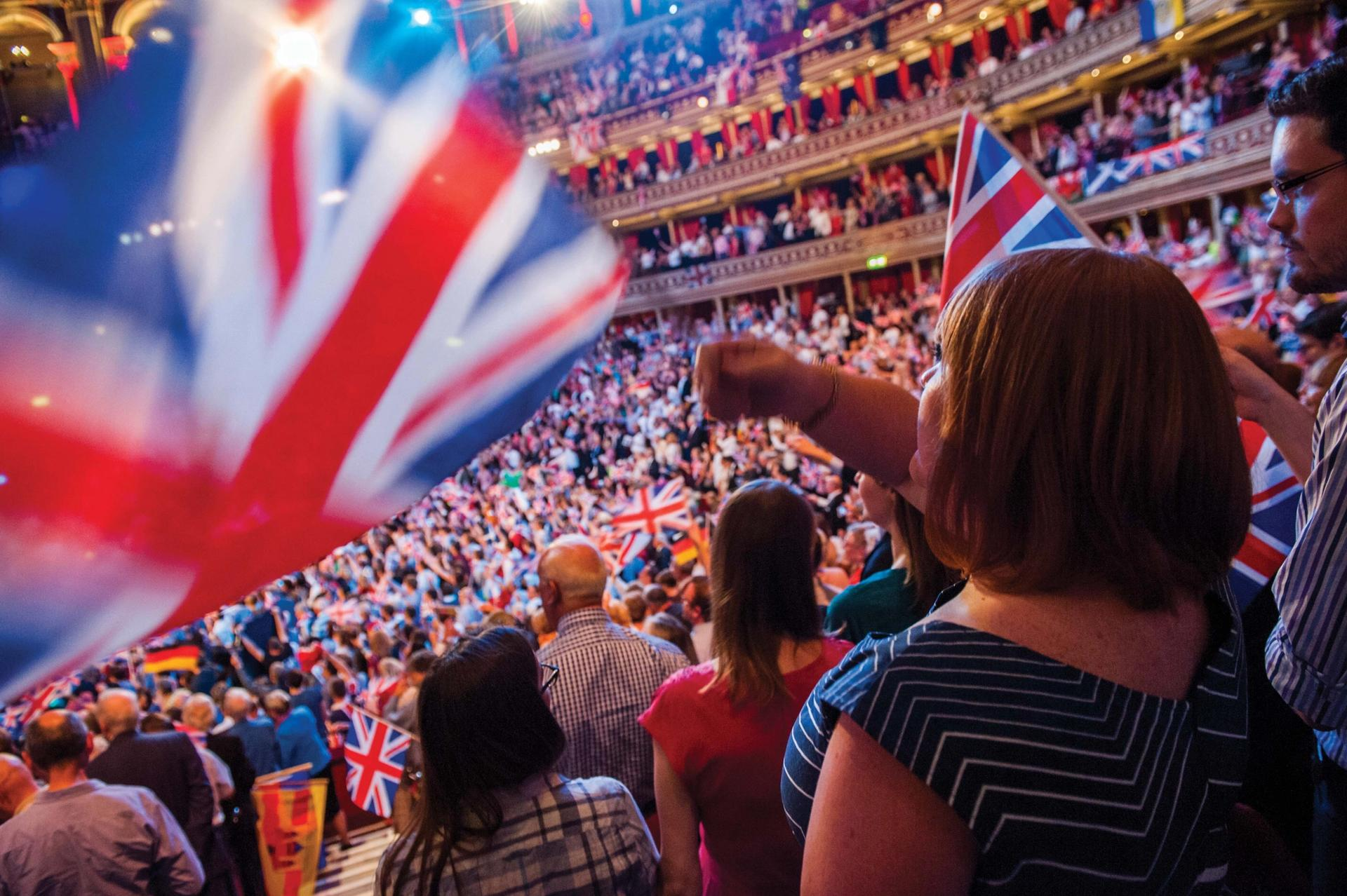 This year's Last Night of the Proms at London's Royal Albert Hall Guy Bell/PA