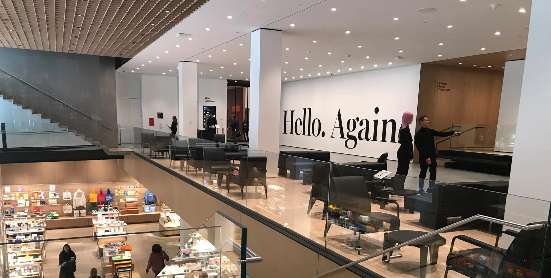 Visitors entering the newly reopened Museum of Modern Art from 53rd Street will be greeted by a more open ground floor lobby designed by Diller Scofidio + Renfro that unites the Taniguchi building with the Jean Nouvel tower Helen Stoilas, The Art Newspaper