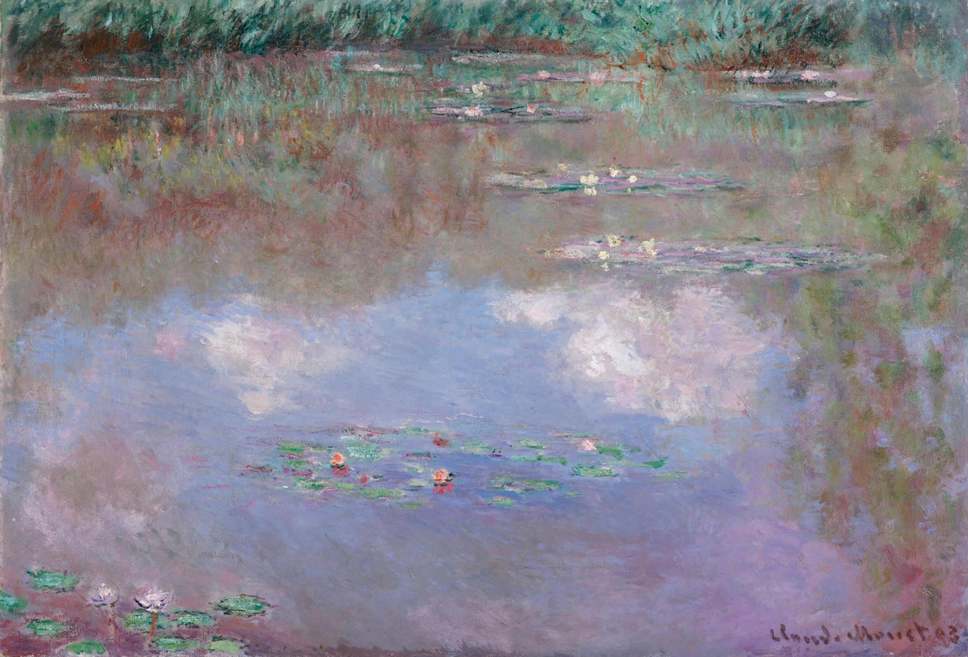 From the McDermott Collection: Claude Monet, The Water Lily Pond (1903)