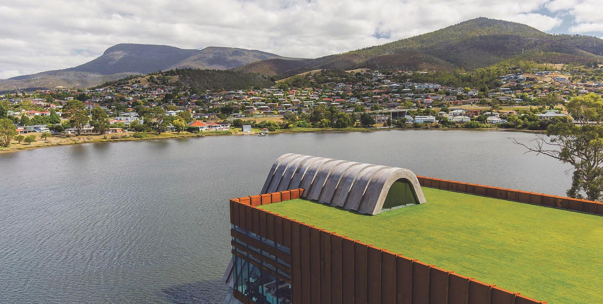 The Pharos wing at the Museum of Old and New Art (Mona) in Hobart, Tasmania, founded by the  professional gambler and businessman David Walsh Photo: Mona/Jesse Hunniford; courtesy of Mona