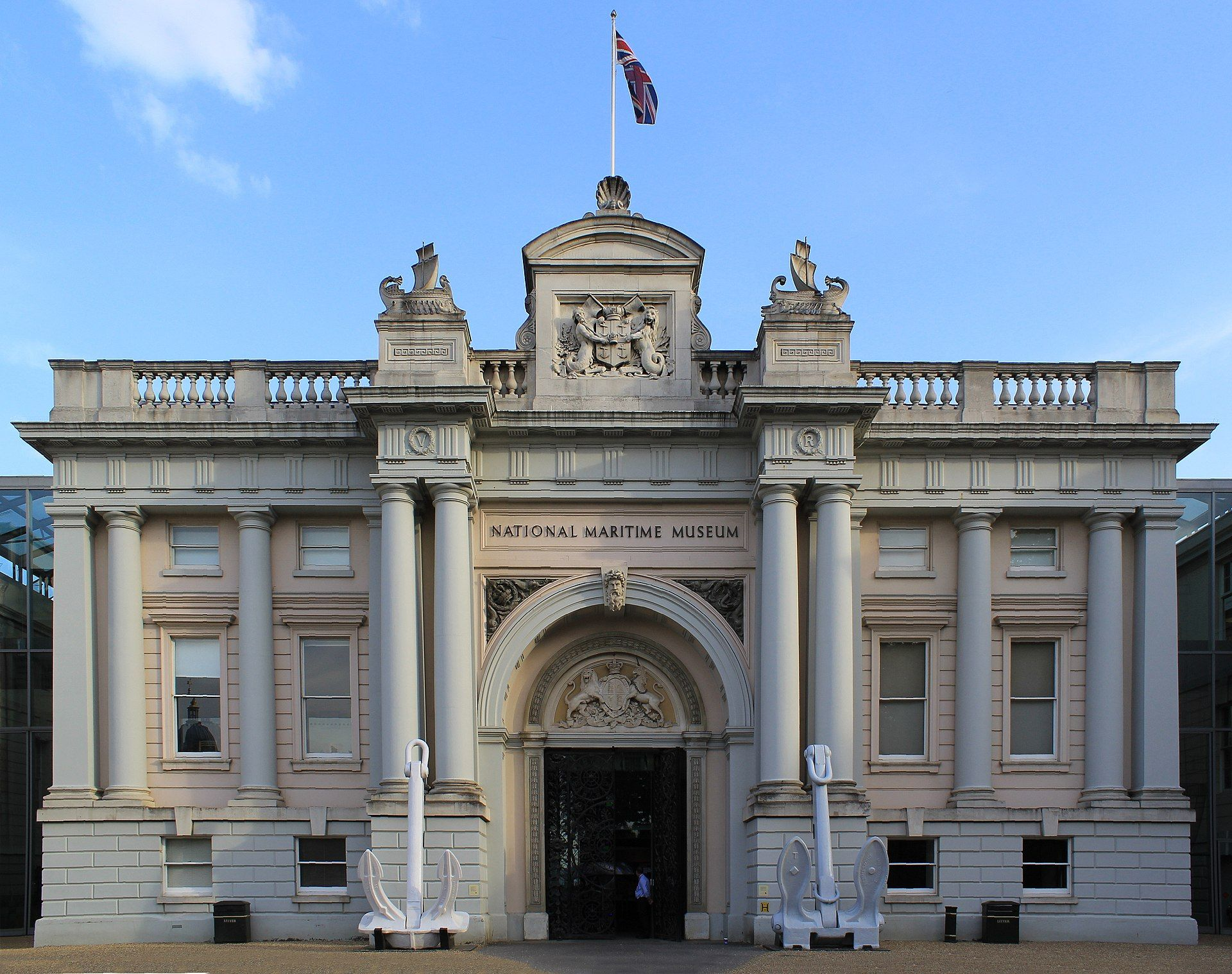 The National Maritime Museum, part of the Royal Museums Greenwich Photo: Katie Chan via Wikimedia Commons