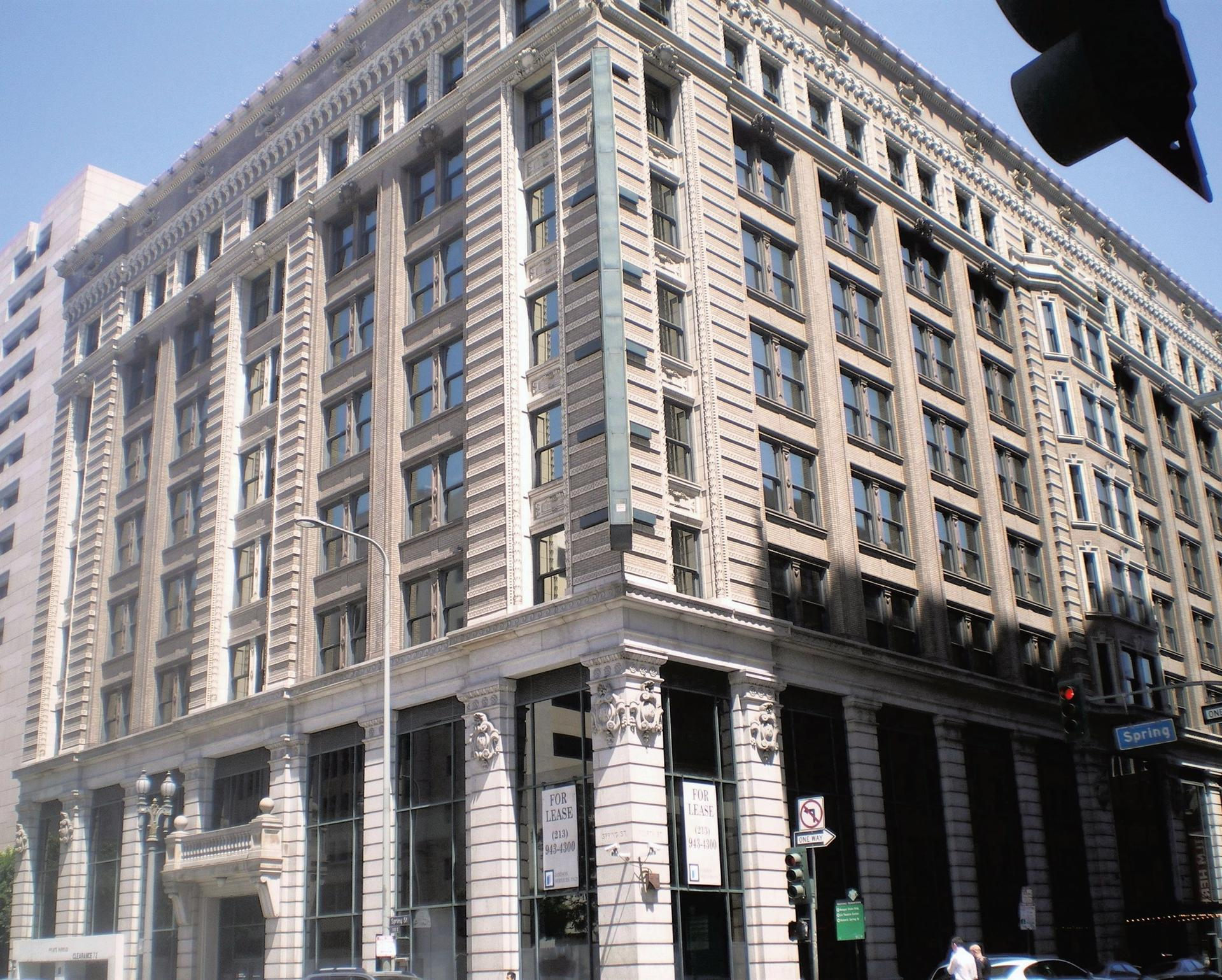 The Hellman Building in Los Angeles, home of the Main Museum, which closed in 2019 Photo: Wikimedia Commons