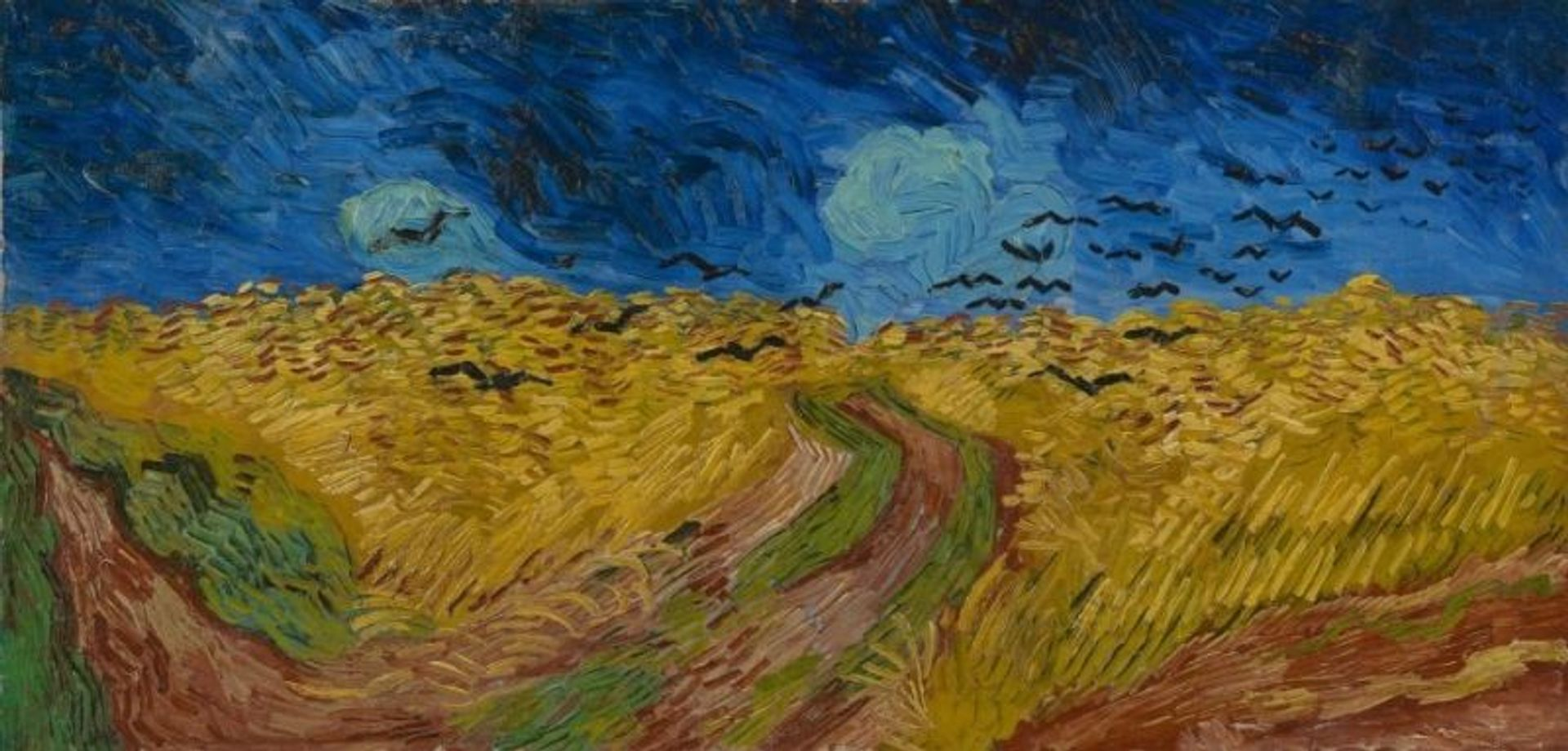 Van Gogh's Wheatfield with Crows (July 1890) Courtesy of the Van Gogh Museum, Amsterdam (Vincent van Gogh Foundation)