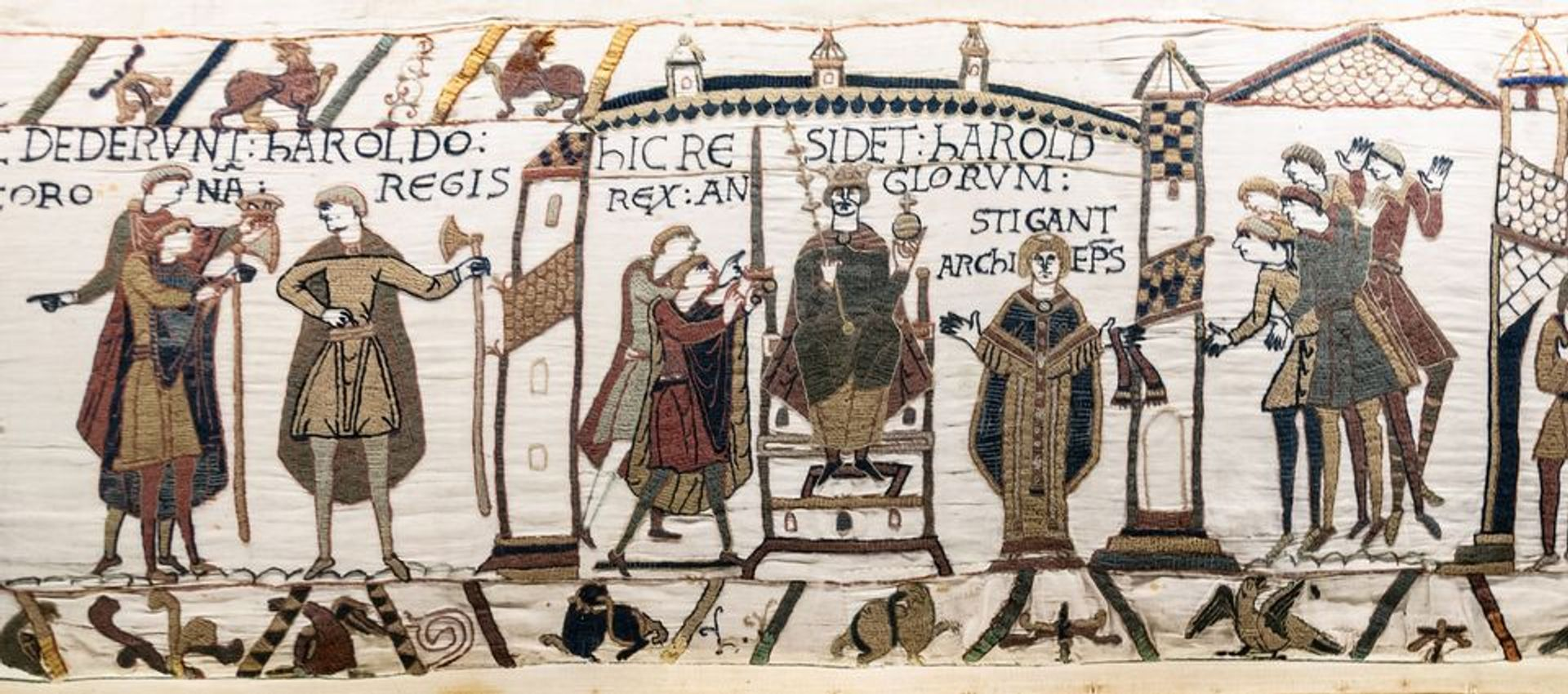 Bayeux Tapestry Wikimedia Commons