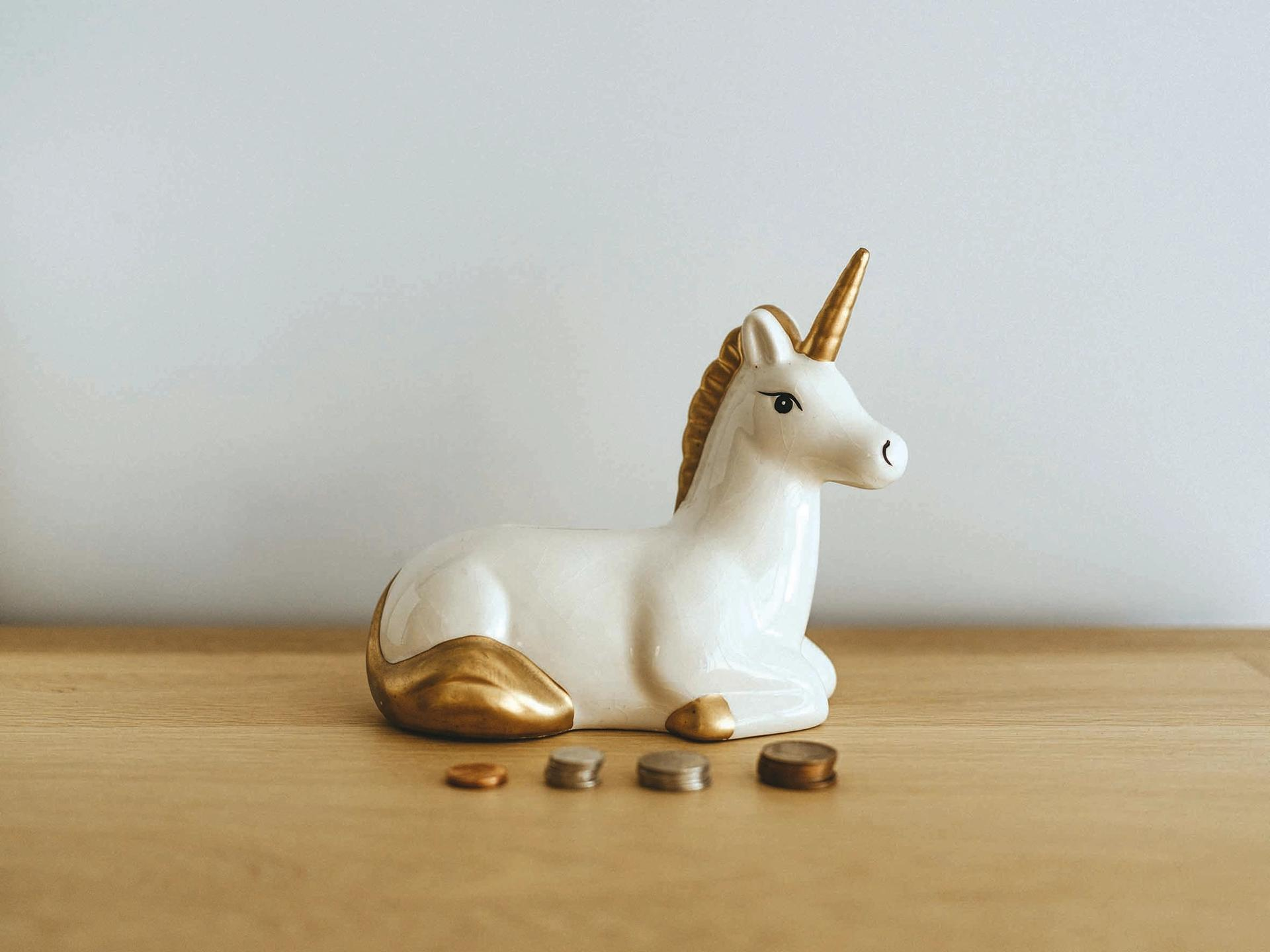In the finance world, a unicorn is a startup whose value ultimately reaches more than $1bn © Annie Spratt
