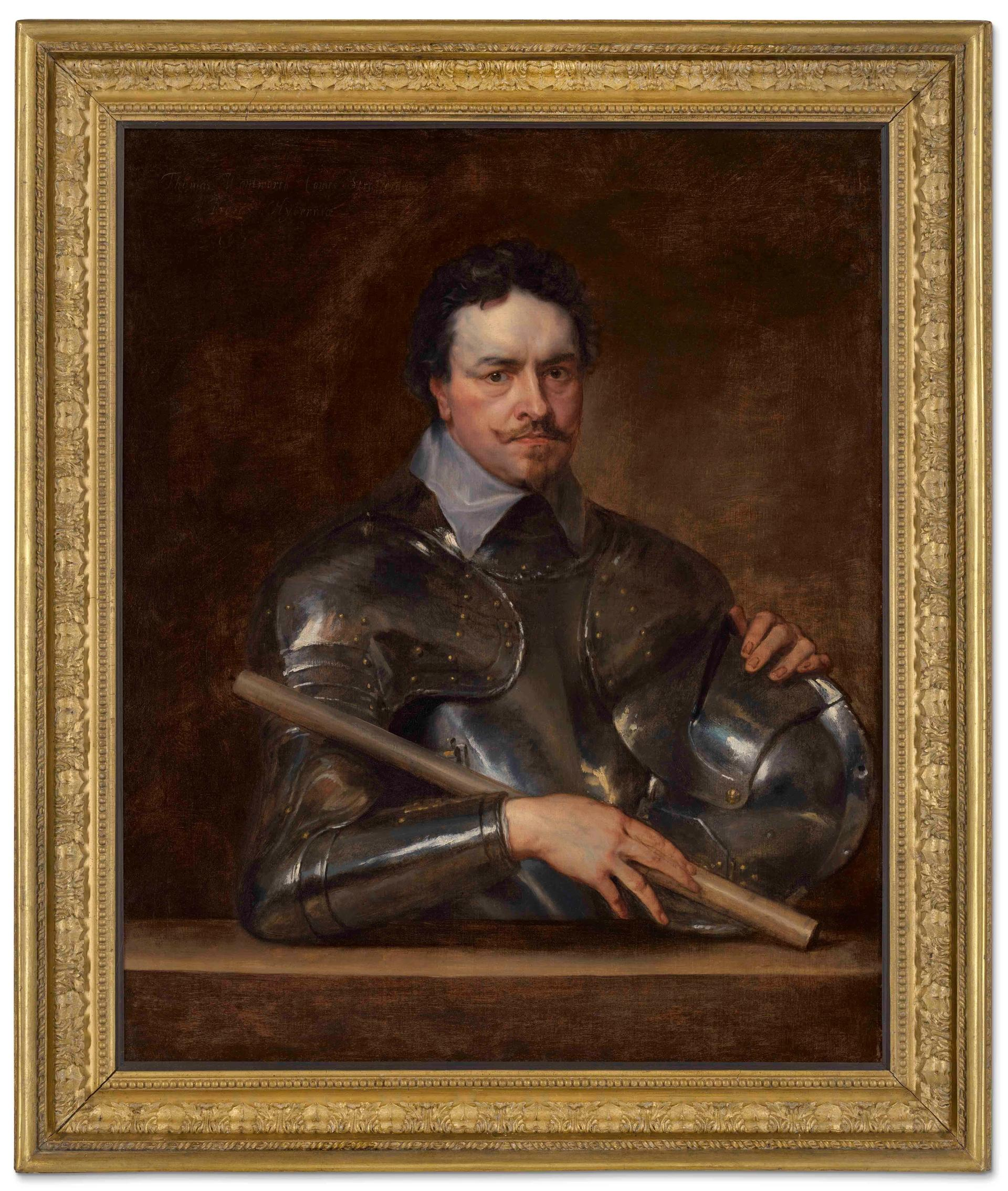 Portrait of Thomas Wentworth, 1st Earl of Strafford, by Anthony Van Dyck Courtesy of Christie's