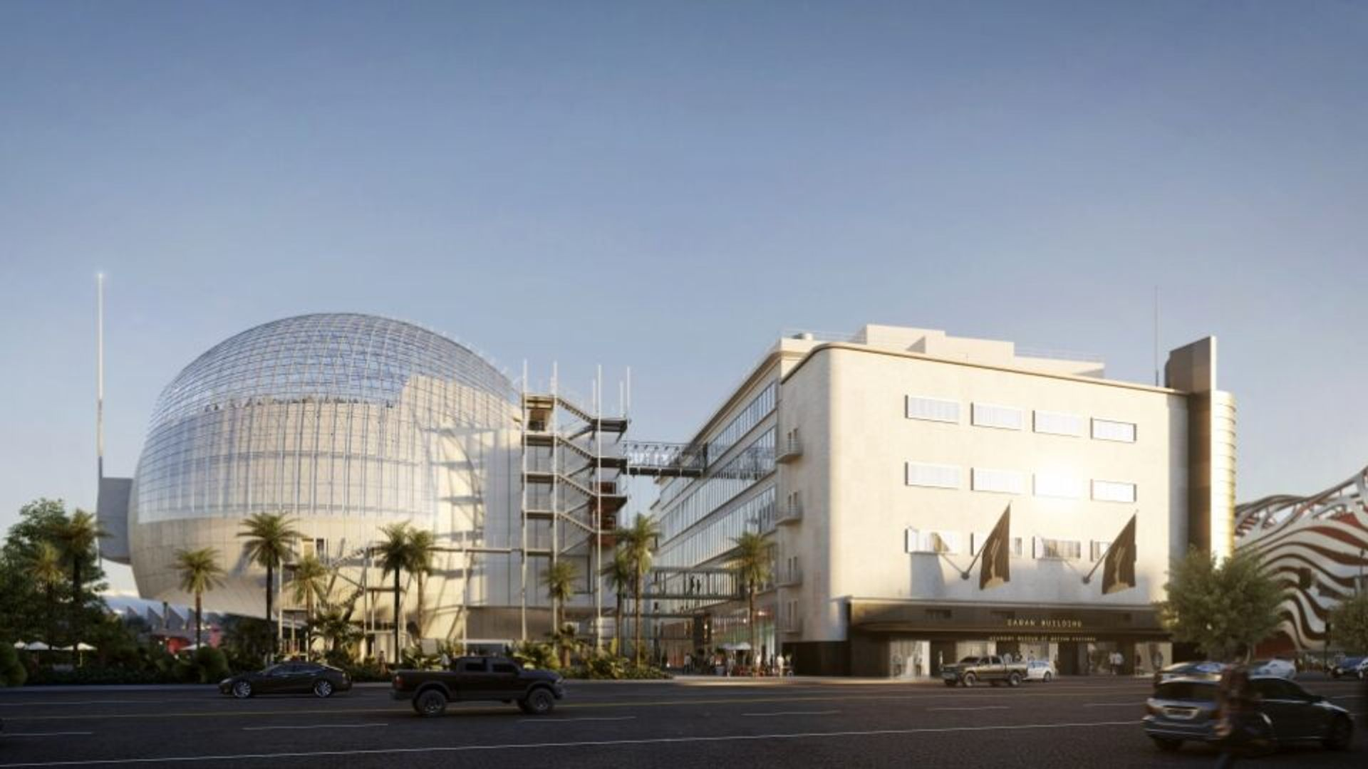 The Academy Museum of Motion Pictures in Los Angeles Courtesy of Academy Museum of Motion Pictures