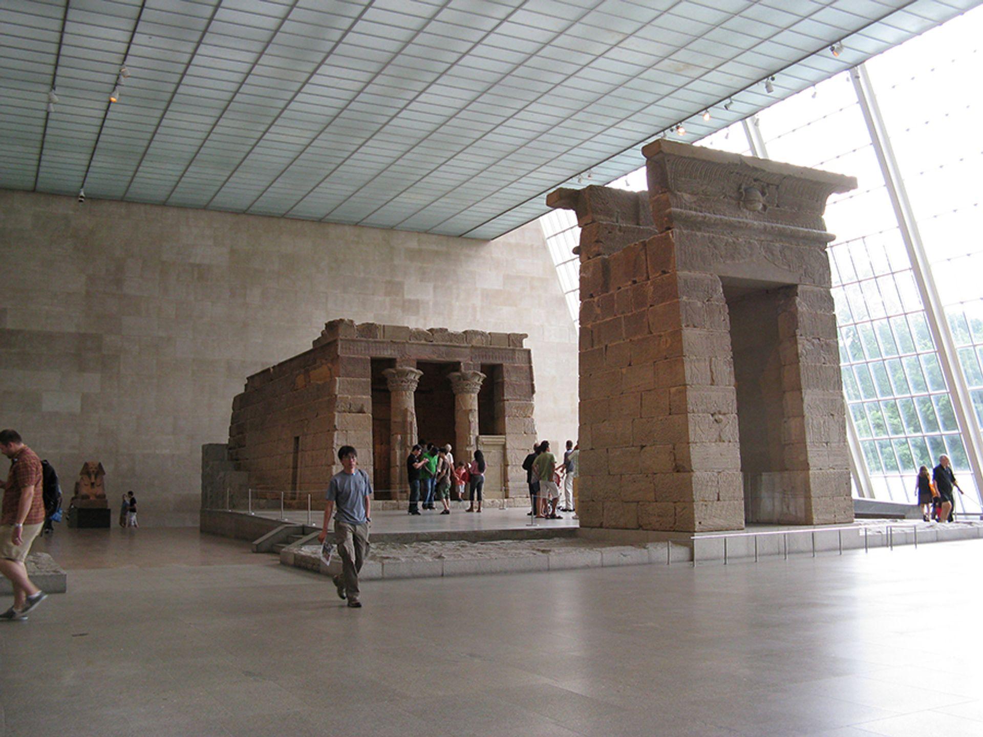 The Met's Sackler Wing houses the Temple of Dendur Yair Haklai