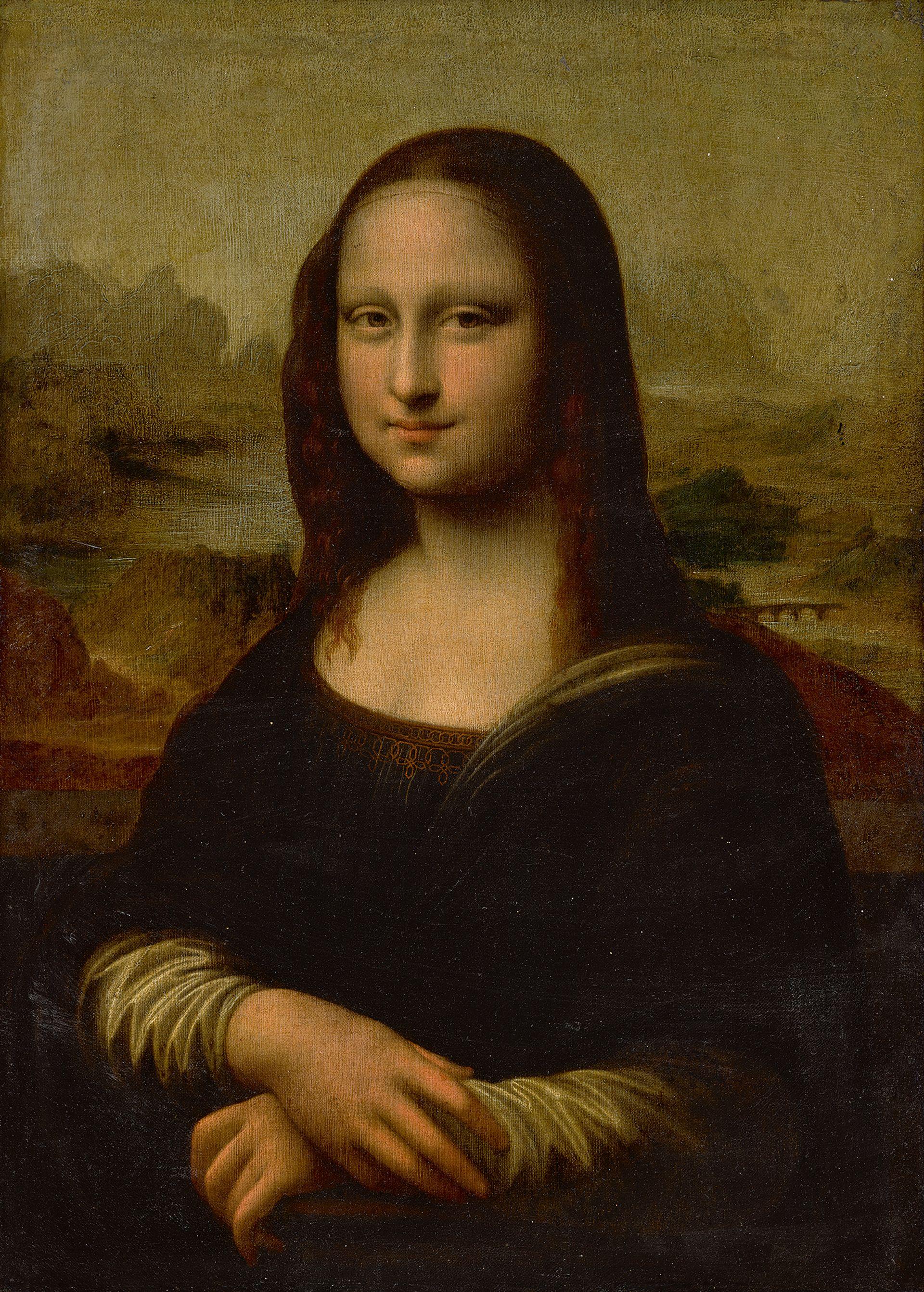 Mona Lisa by a follower of Leonardo da Vinci (17th century) Courtesy of Sotheby's
