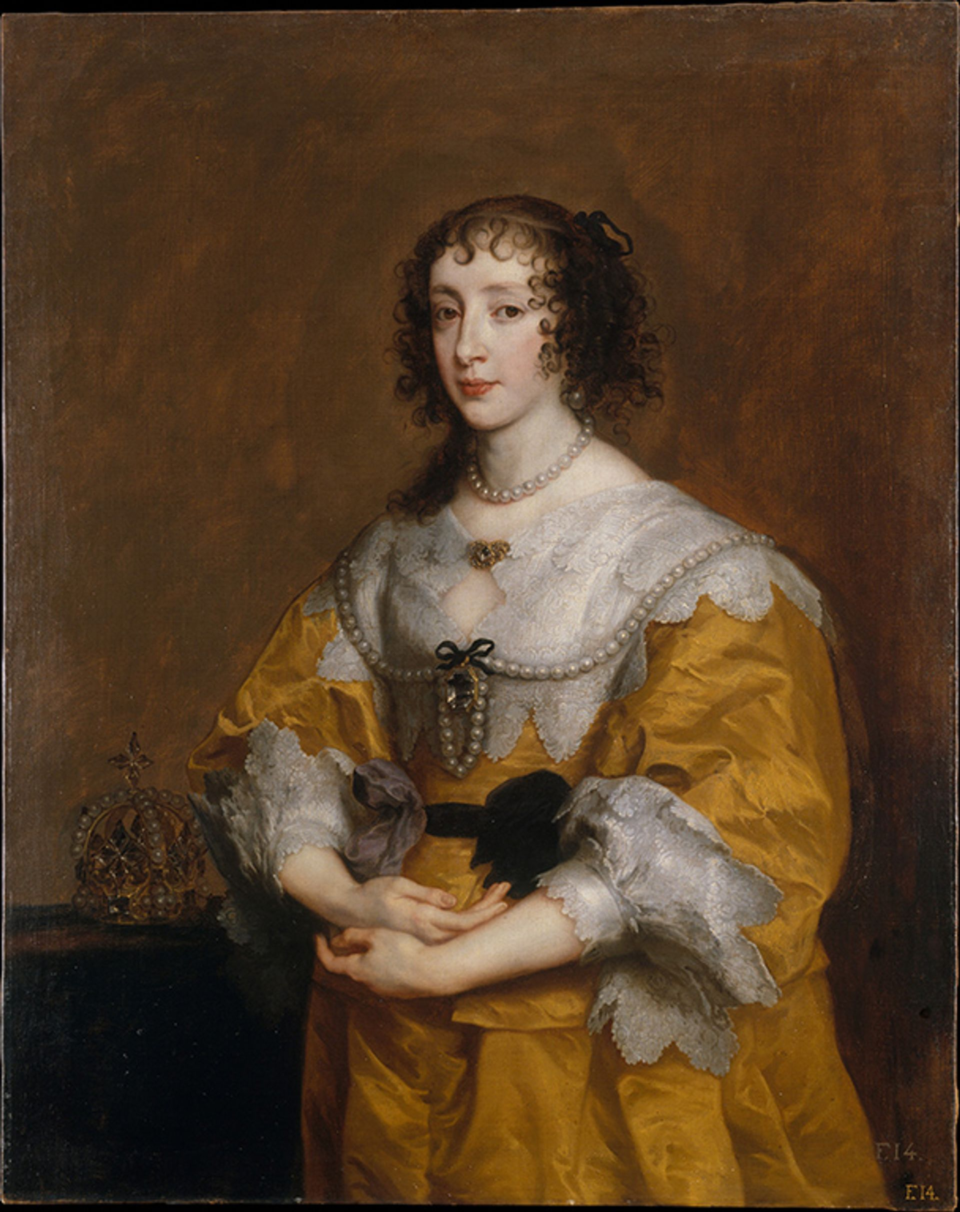 Anthony van Dyck's Queen Henrietta Maria (1636), part of a bequest by Jayne Wrightsman Metropolitan Museum of Art, New York, Bequest of Mrs. Charles Wrightsman in honour of Annette de la Renta, 2019