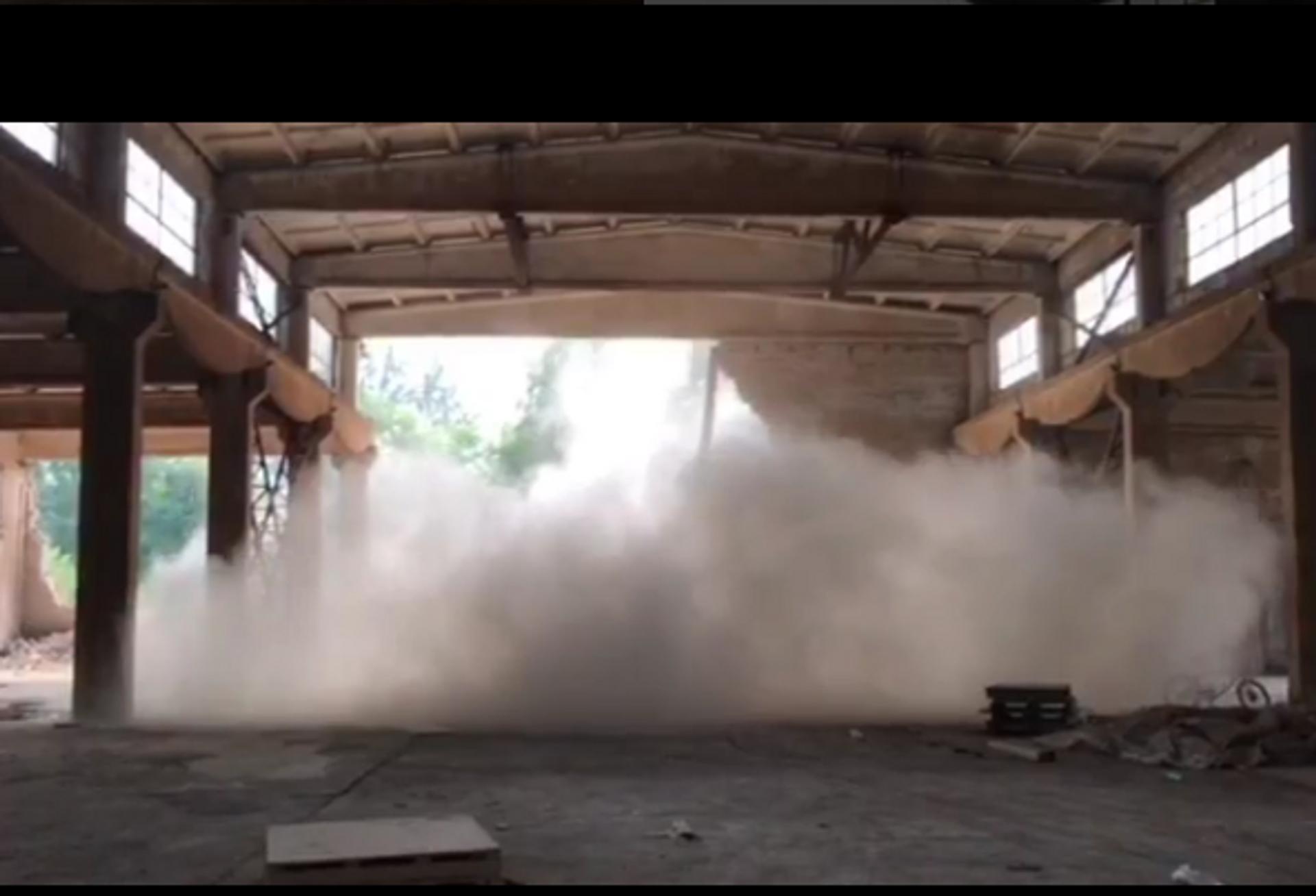 Ai Weiwei's studio has been destroyed as part of a gentrification drive by the Beijing authorities aiww/Instagram