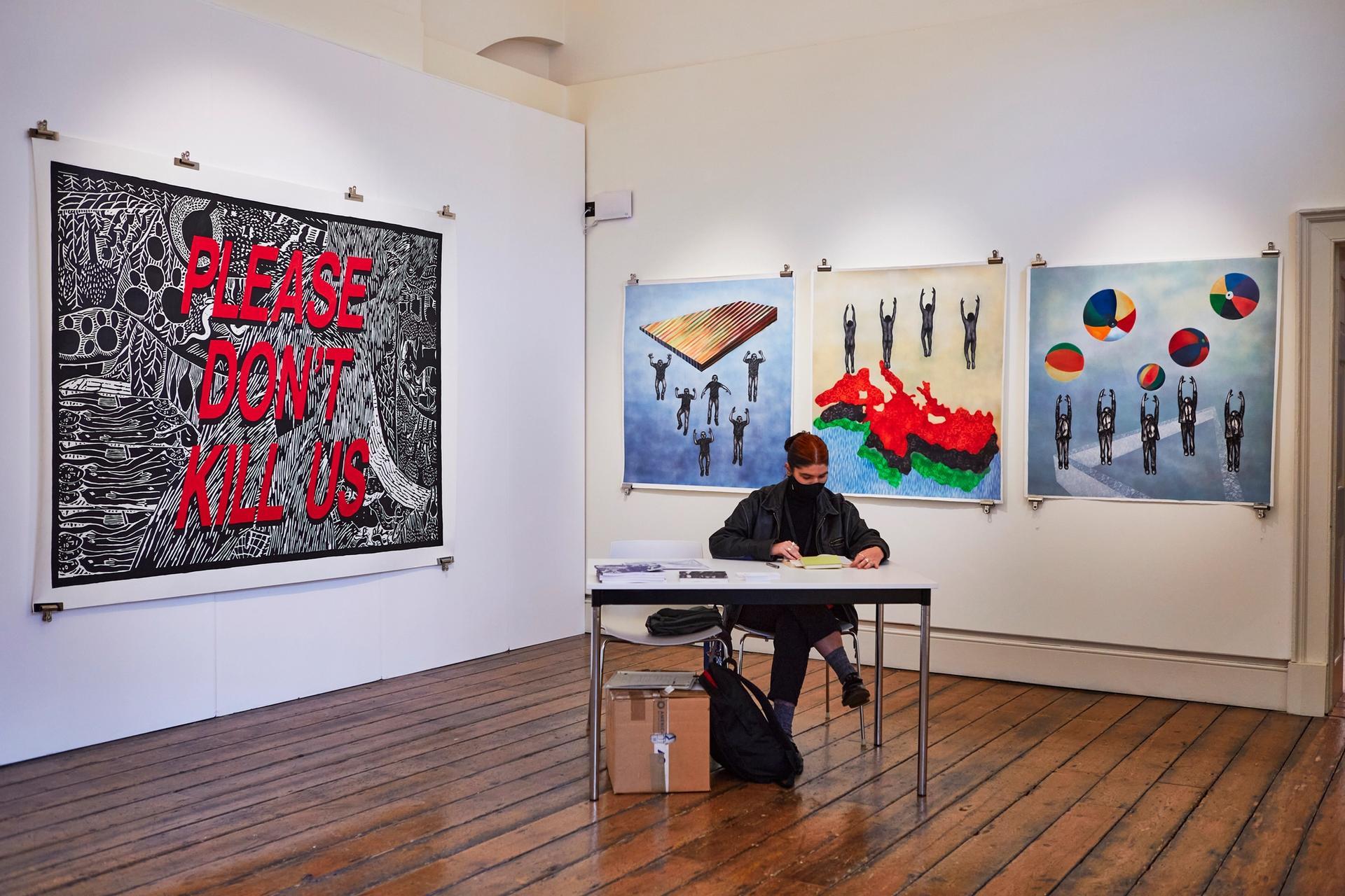 An installation view of 1-54 Contemporary African Art Fair in London Photo: Rocio Chacon. Courtesy of 1-54