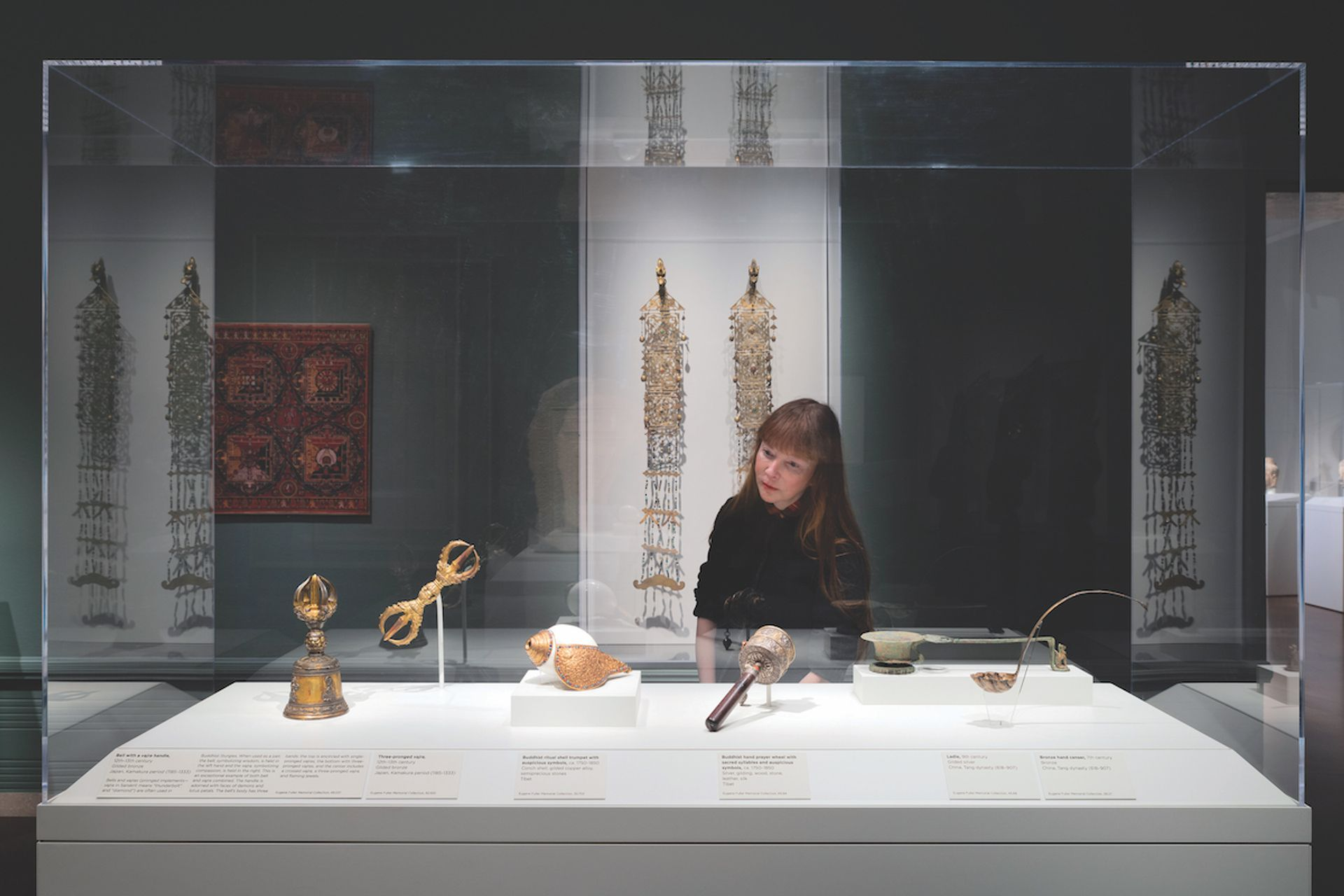 Boundless: Stories of Asian Art brings together works from China, Japan  and South Asia, and incorporates  Islamic art for the first time © Ripple Fang and courtesy of the Seattle Asian Art Museum