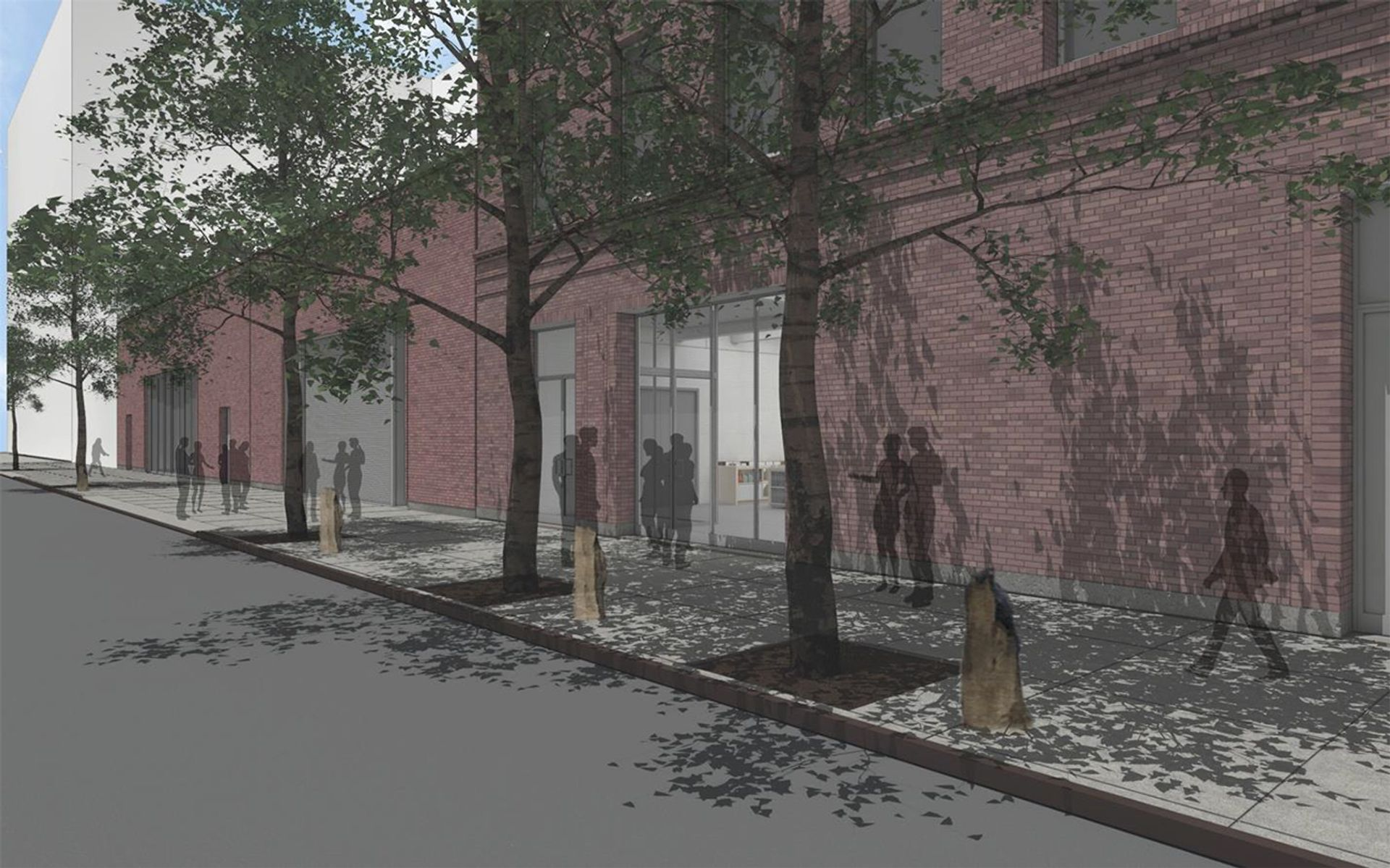 The façade for the revamped Dia:Chelsea, due to reopen in autumn 2020 Courtesy of Architecture Research Office/ Dia Art Foundation