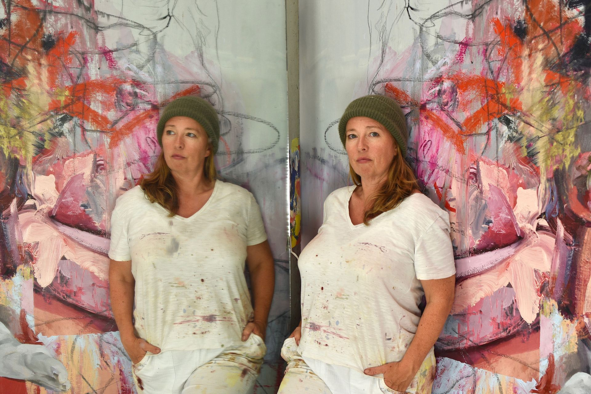 In our latest A brush with... podcast, we speak to the artist Jenny Saville about her life and work Photo courtesy of the artist and Gagosian