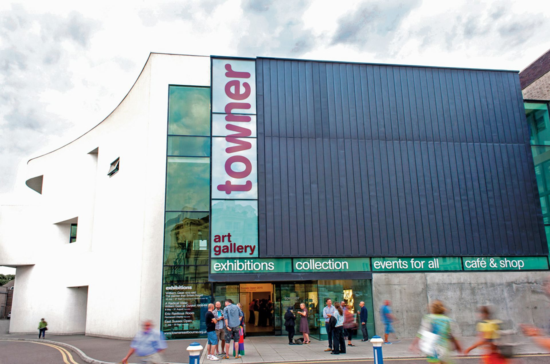 Towner Art Gallery is facing a 50% funding cut in the next four years Phil Burrowes/Avant Photographic